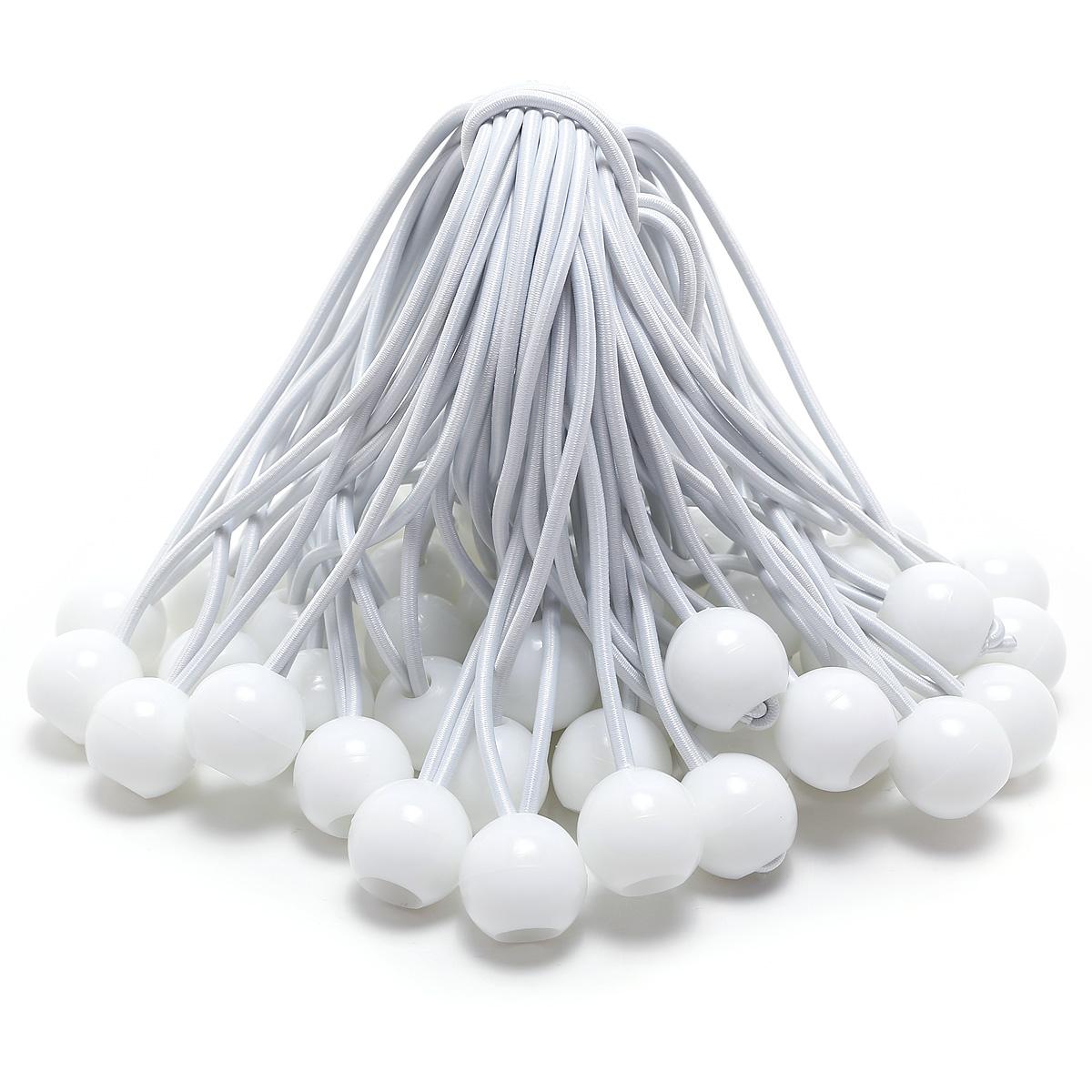 50pcs cable cuerda el sticas el stico con bola para for Cuerdas para toldos