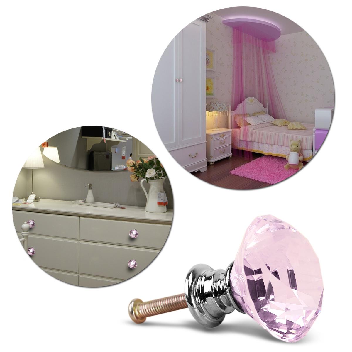 8pcs pomo para puerta de armario tirador de mueble de for Pomos para armarios