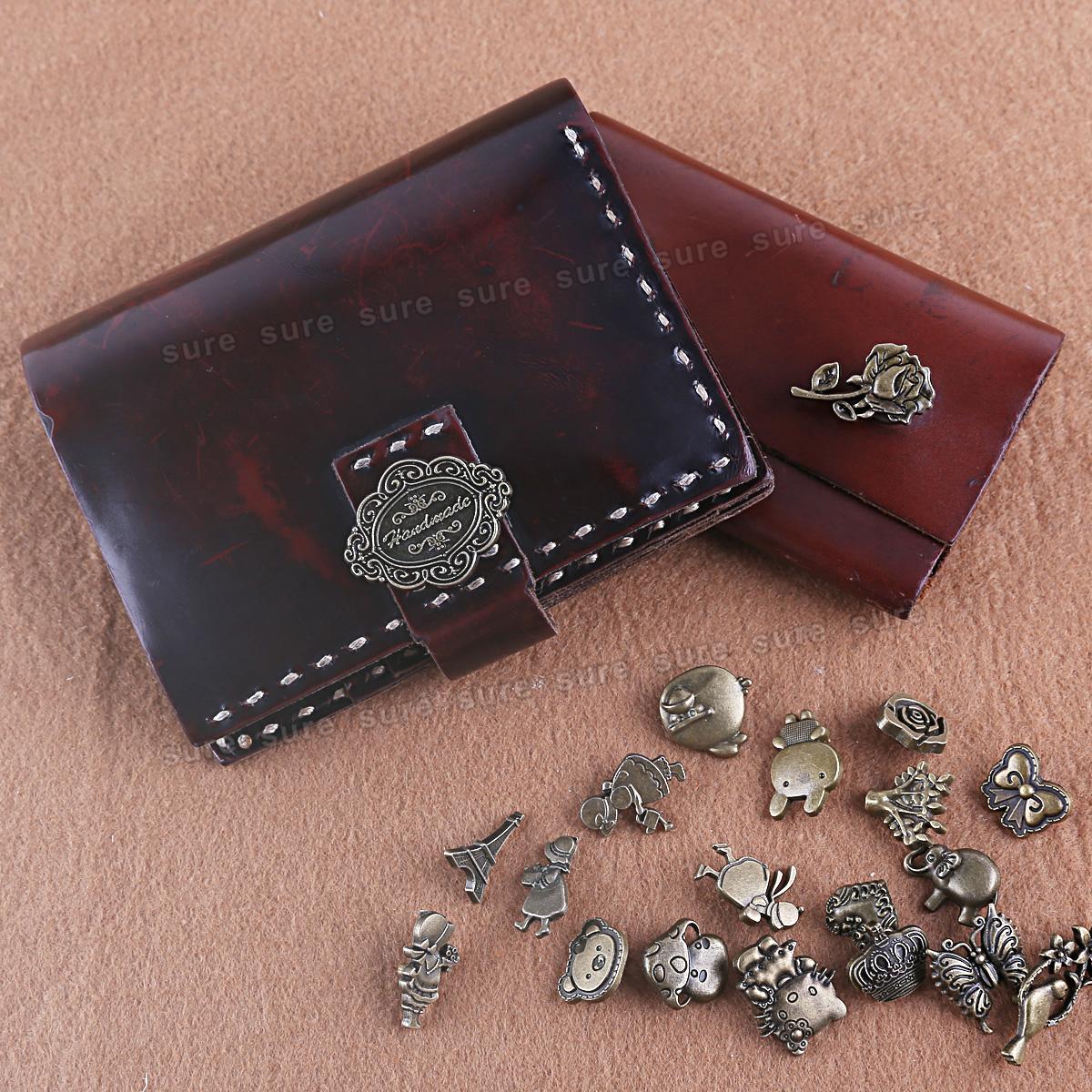 20 design metall druckkn pfe werkzeug locheisen handschlageisen leder tasche ebay. Black Bedroom Furniture Sets. Home Design Ideas