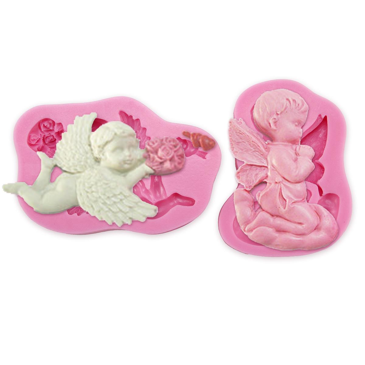 Cake Decorating Baby Mould : Birthday Baby Elf Silicone Cake Fondant Mold Sugarcraft ...