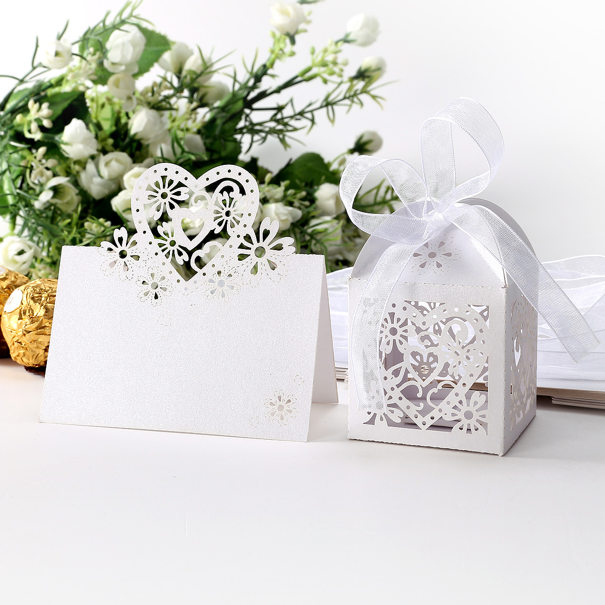 Wedding Gift Boxes Uk : Various Color Wedding Party Candy Boxes Gift Boxes Ribbon Favour Decor ...