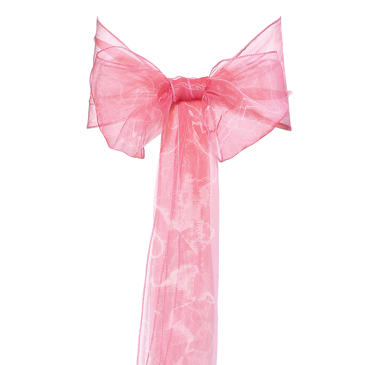 10x Organza for Wedding Table Runner, Chair Sash, Bow, decoration Coral : eBay