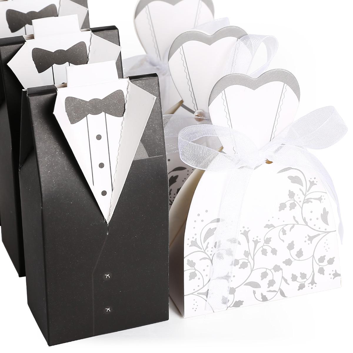 200tlg hochzeit gastgeschenk kartonage braut br utigam schachtel geschenkbox ebay. Black Bedroom Furniture Sets. Home Design Ideas