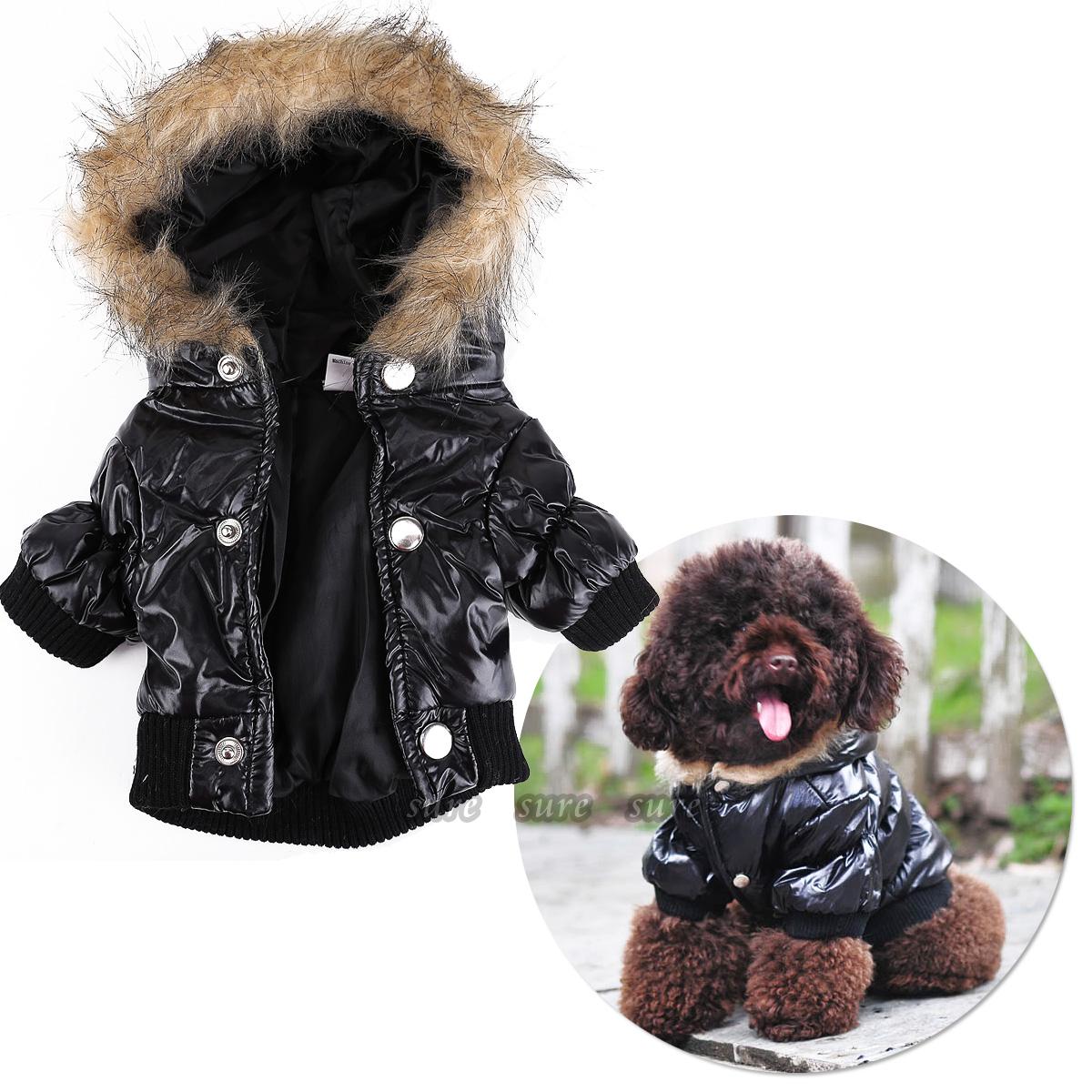 Small Dog Parka Coat