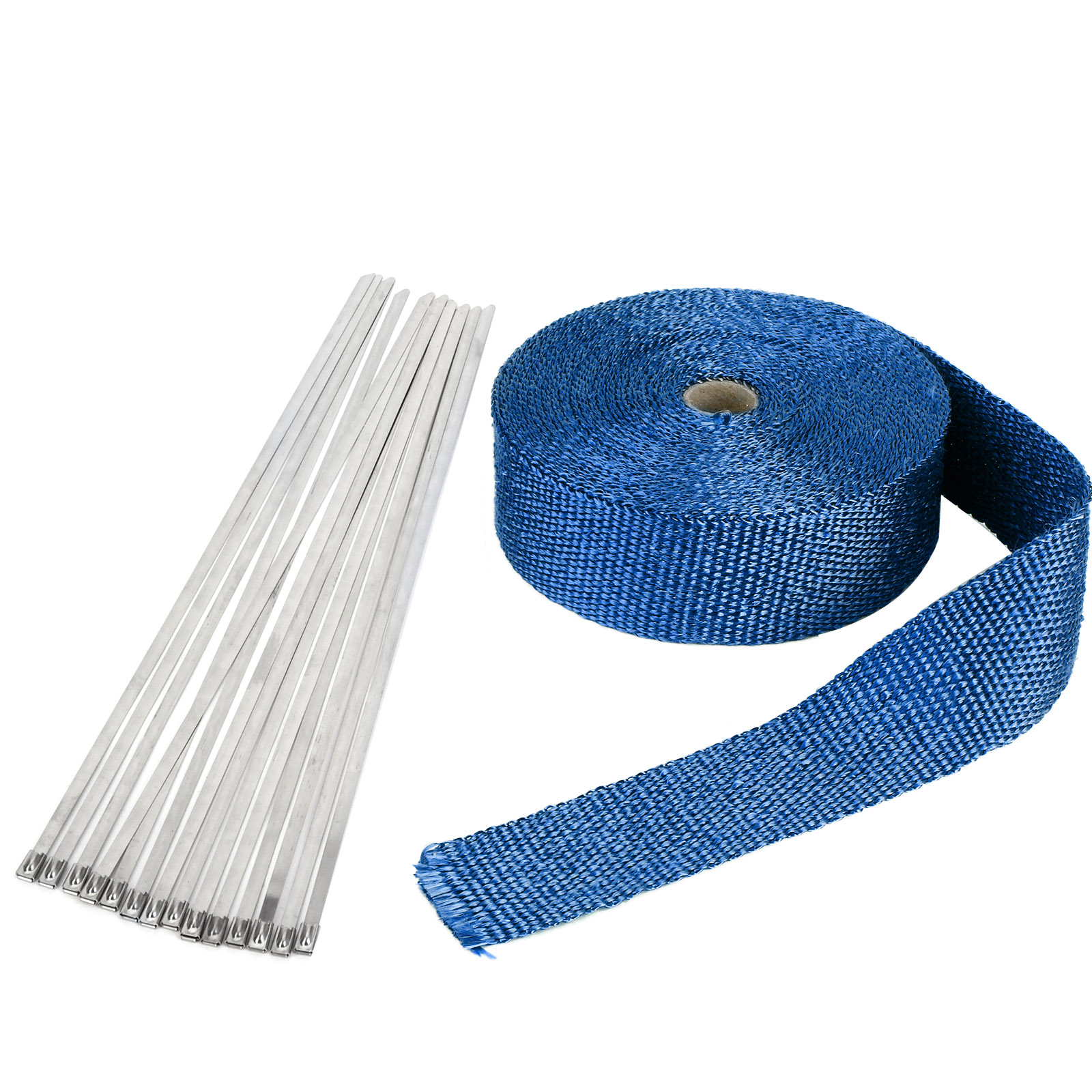 15m bande bleu isolant thermique collecteur echappement