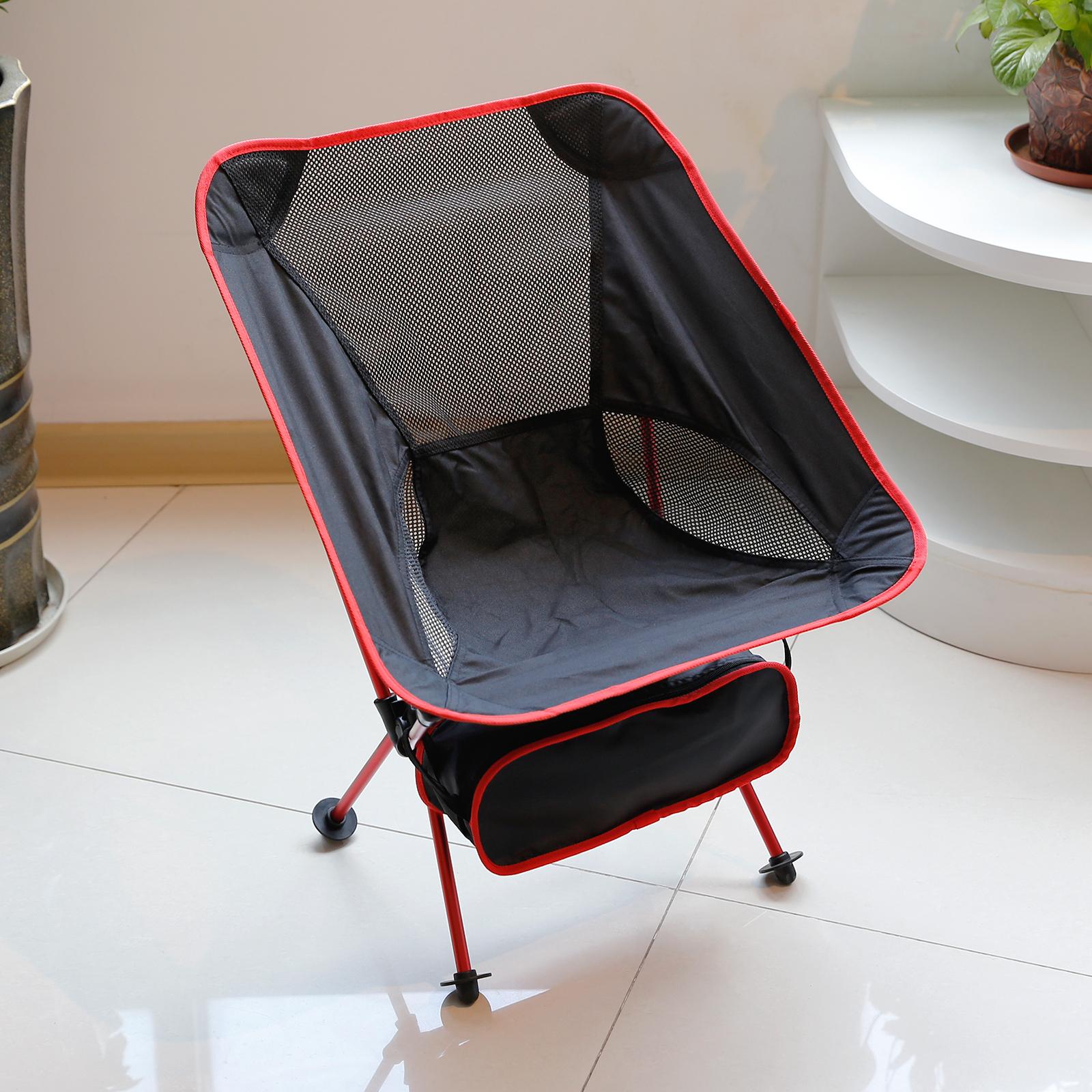 Chaise pliable fold l ger camp bbq outdoor si ge pad p che plage jardin bureau ebay - Siege de plage ultra leger ...
