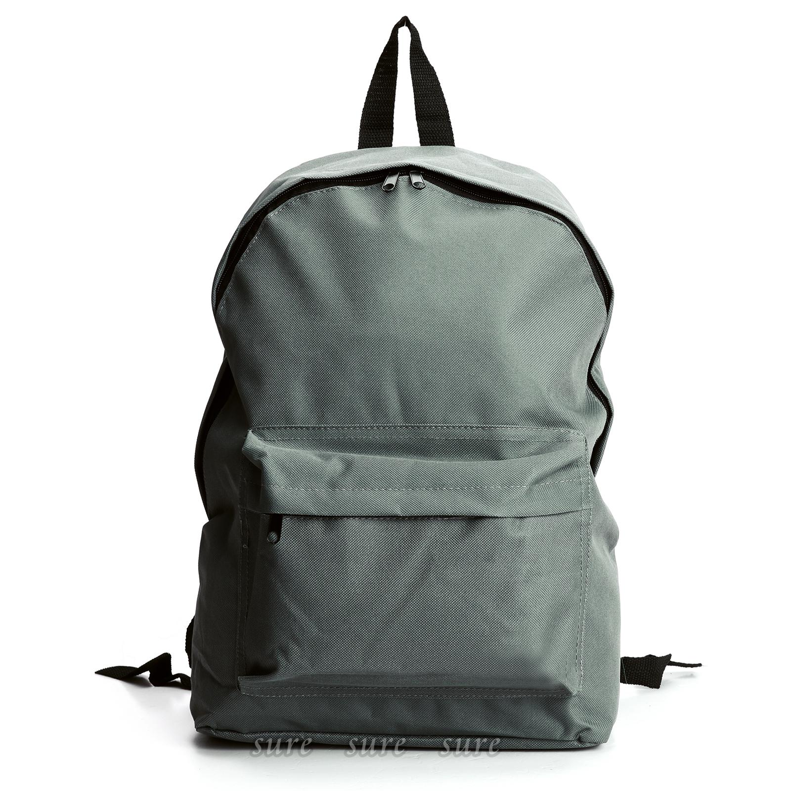 Big Front Pocket Large Retro Canvas Backpack Rucksack ...