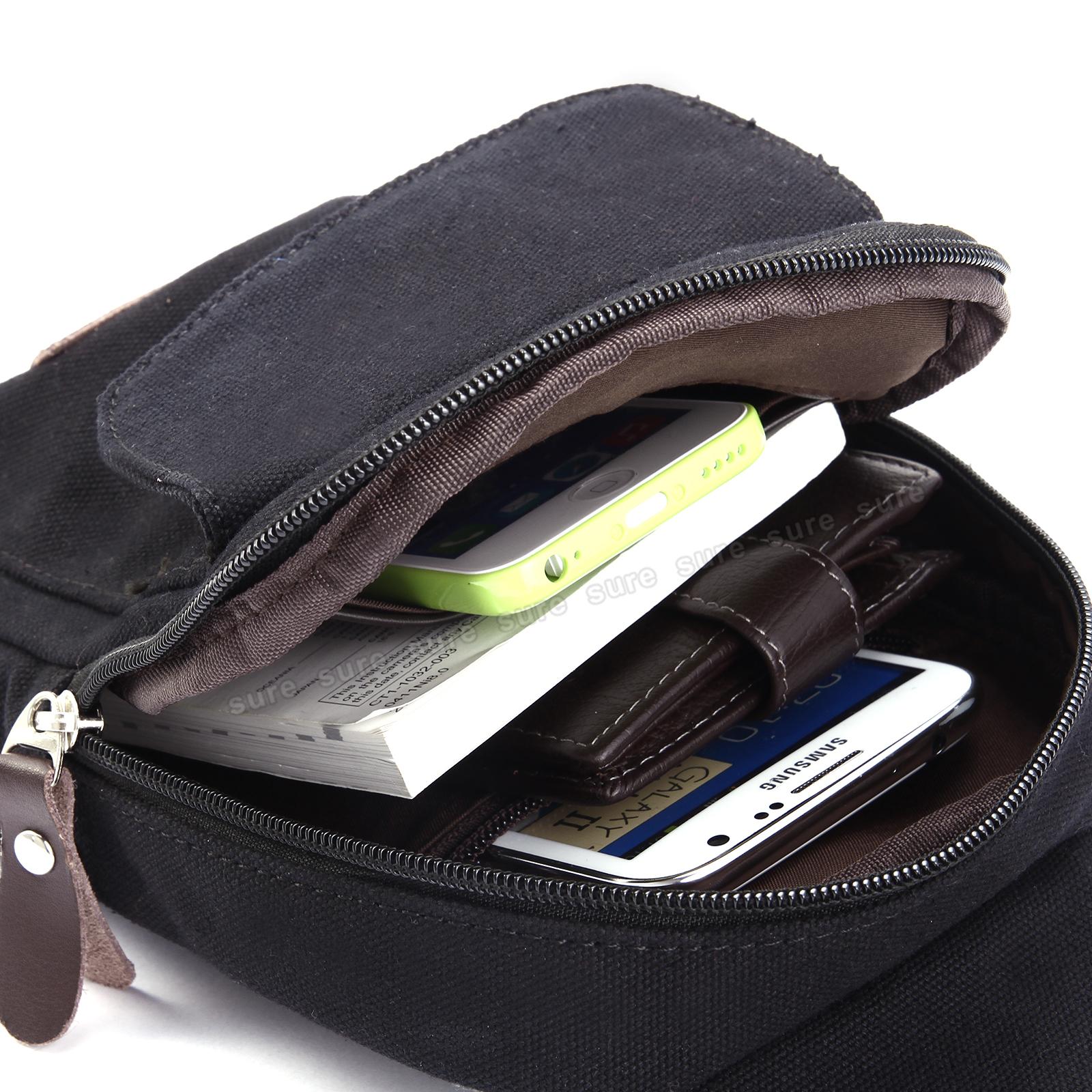 herren canvas crossbag crossover bodybag rucksack tasche. Black Bedroom Furniture Sets. Home Design Ideas