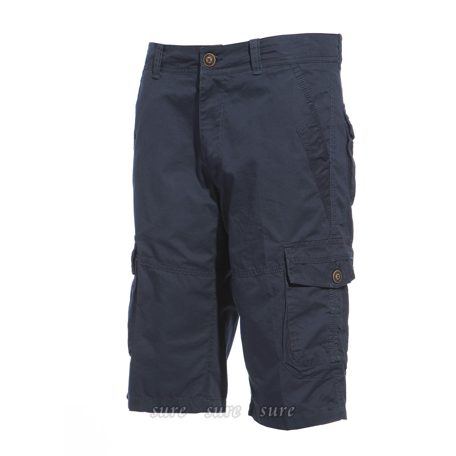 3 4 sommer kurze hose herren bermuda shorts strand hose cargoshorts chinoshorts ebay. Black Bedroom Furniture Sets. Home Design Ideas