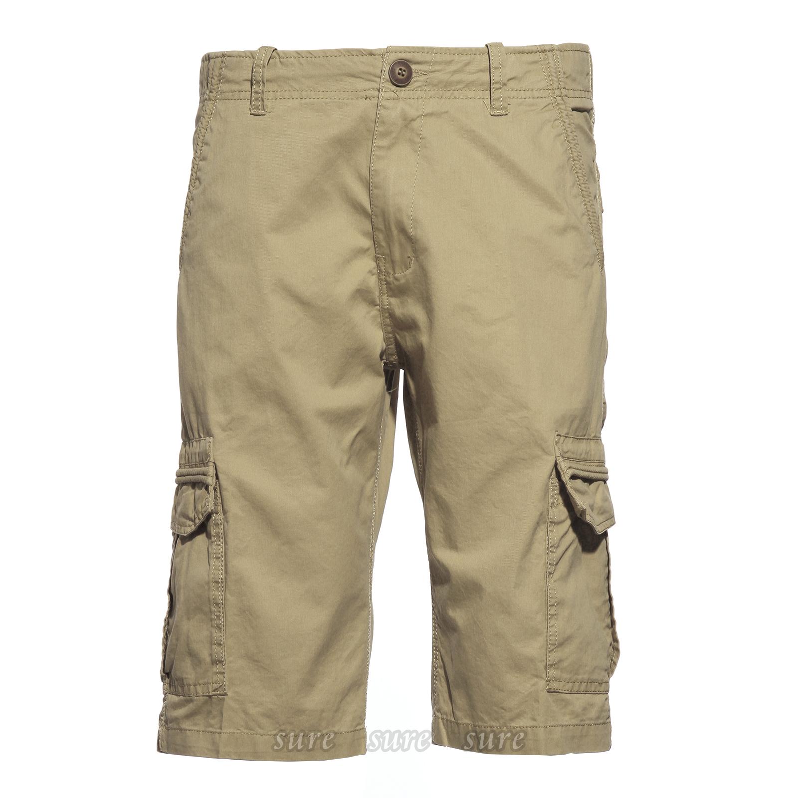 cargo pantacourt bermuda pantalon short homme sport 36 38 40 3couleur style 3 ebay. Black Bedroom Furniture Sets. Home Design Ideas