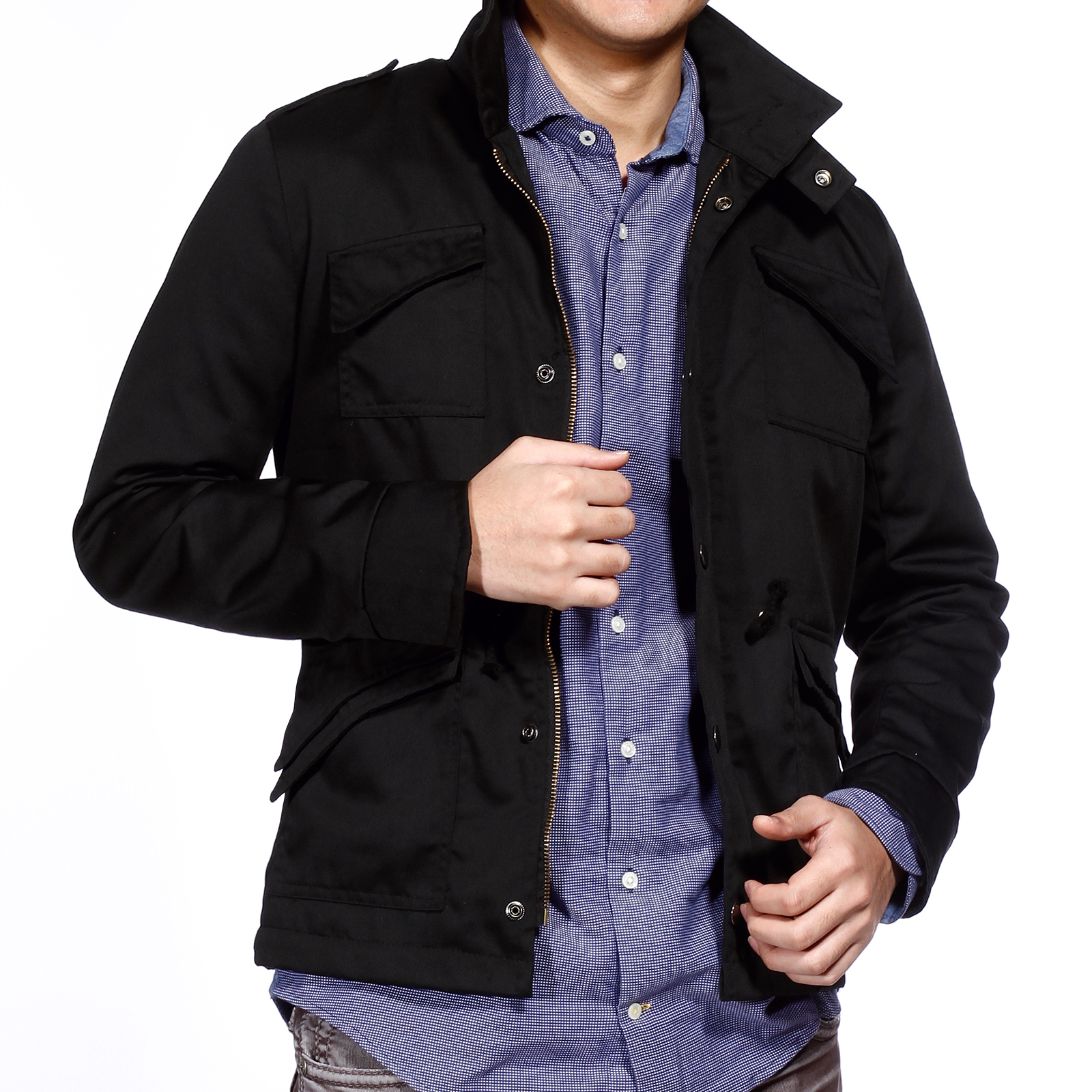 manteau homme jacket blouson moto armee sweat shirt veste. Black Bedroom Furniture Sets. Home Design Ideas