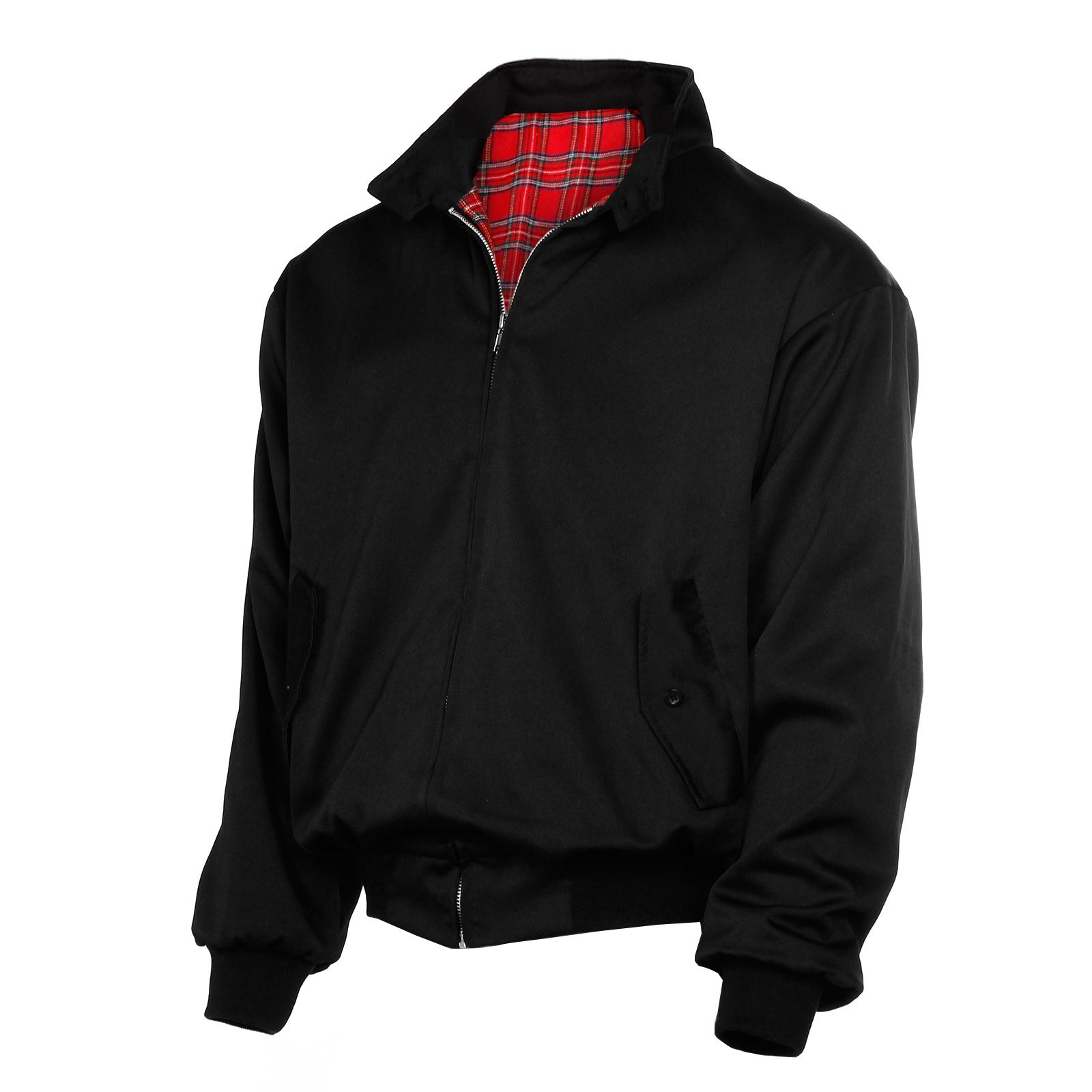 manteau jacket harrington bomber veste homme pardessus. Black Bedroom Furniture Sets. Home Design Ideas