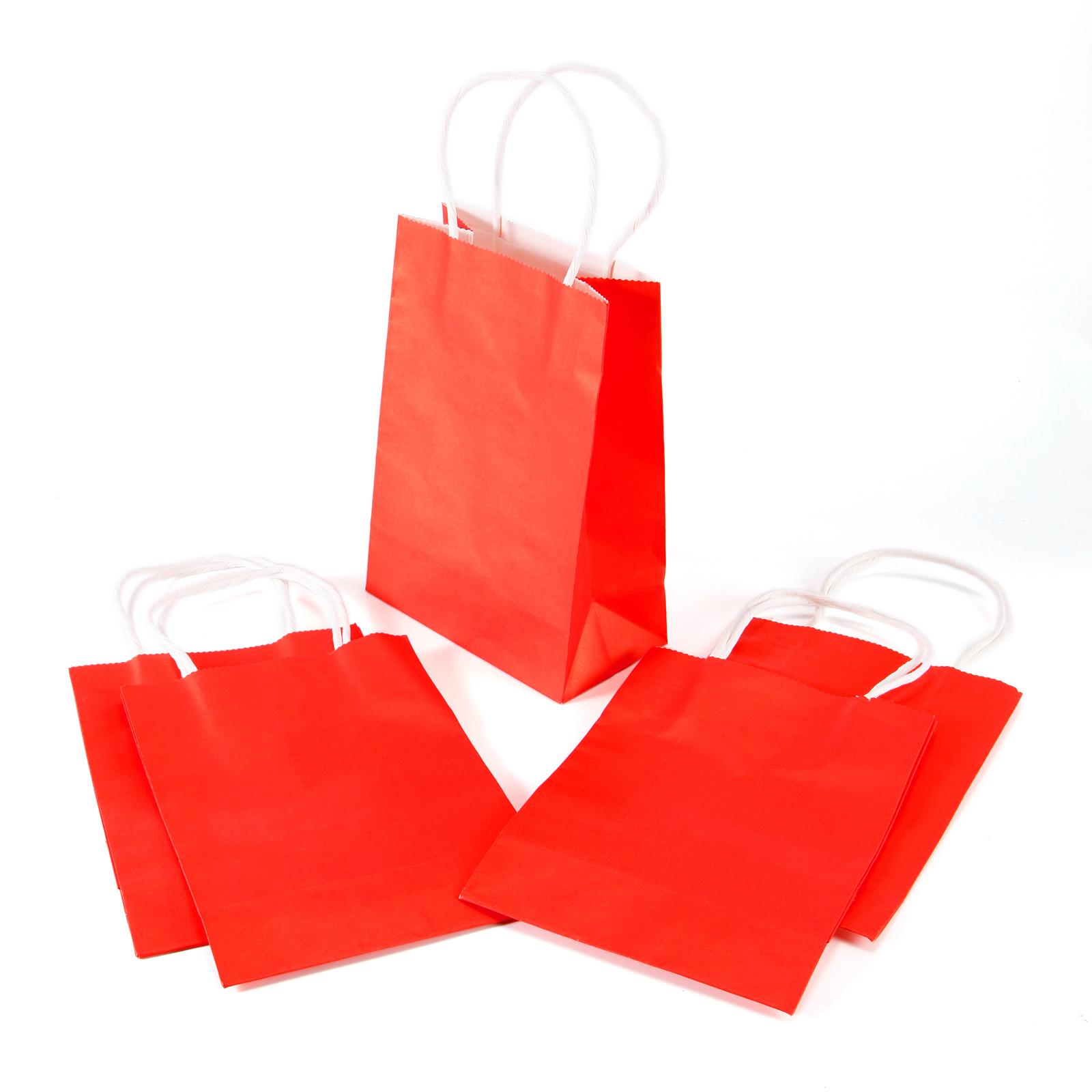 colors kraft paper gift bag with handles luxury wedding. Black Bedroom Furniture Sets. Home Design Ideas