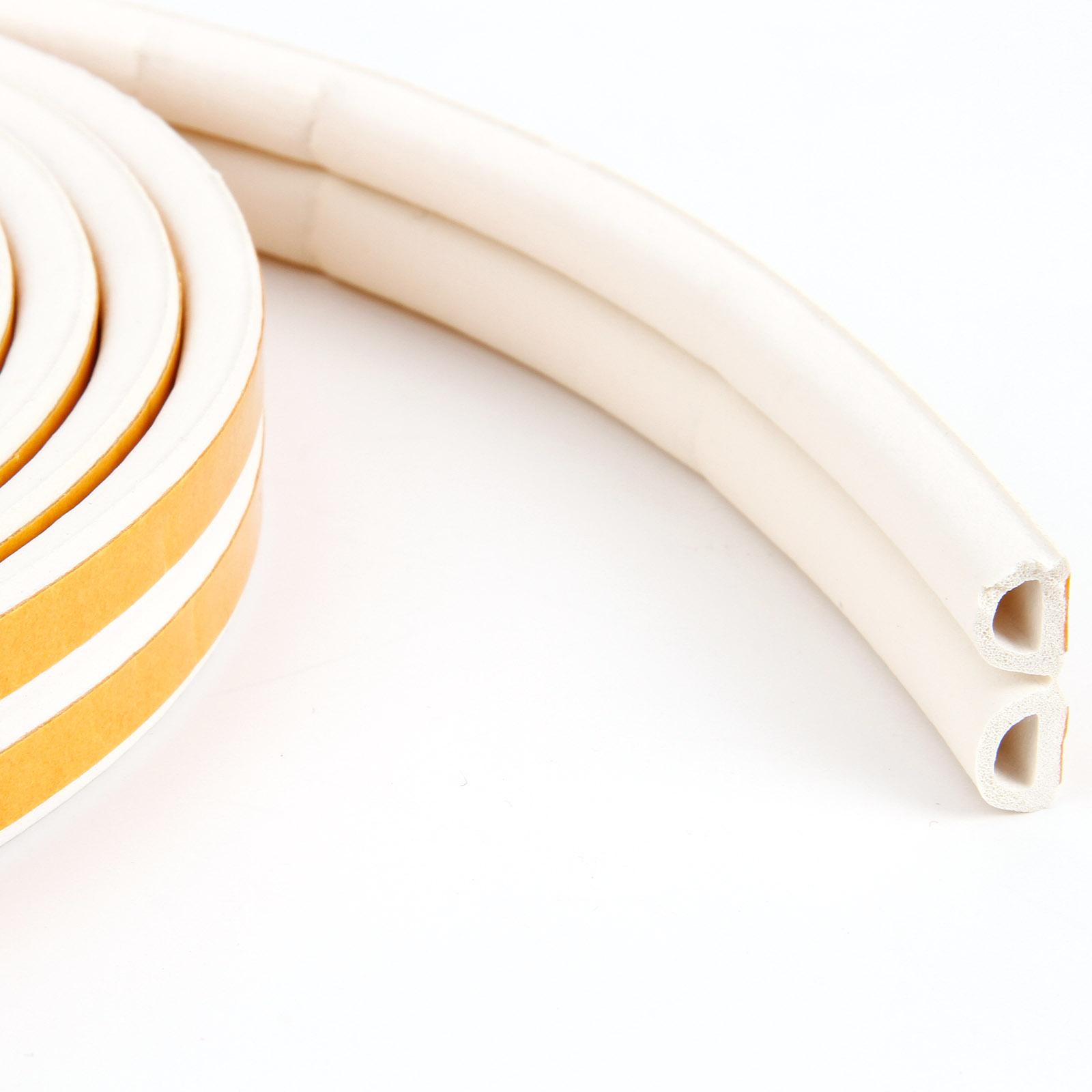 bande joint caoutchouc protection boudin fenetre porte 6m forme profile d blanc ebay. Black Bedroom Furniture Sets. Home Design Ideas
