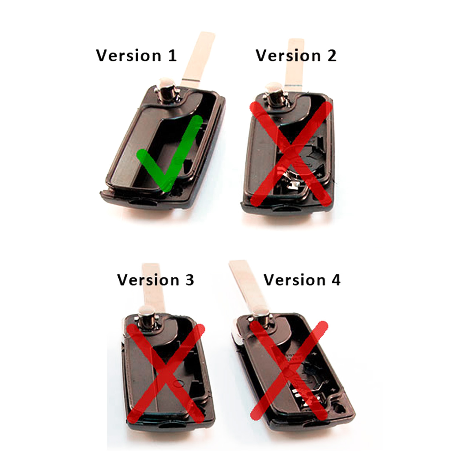 3 button flip control remote key fob case blade for citroen c3 c4 c5 c6 picasso ebay. Black Bedroom Furniture Sets. Home Design Ideas