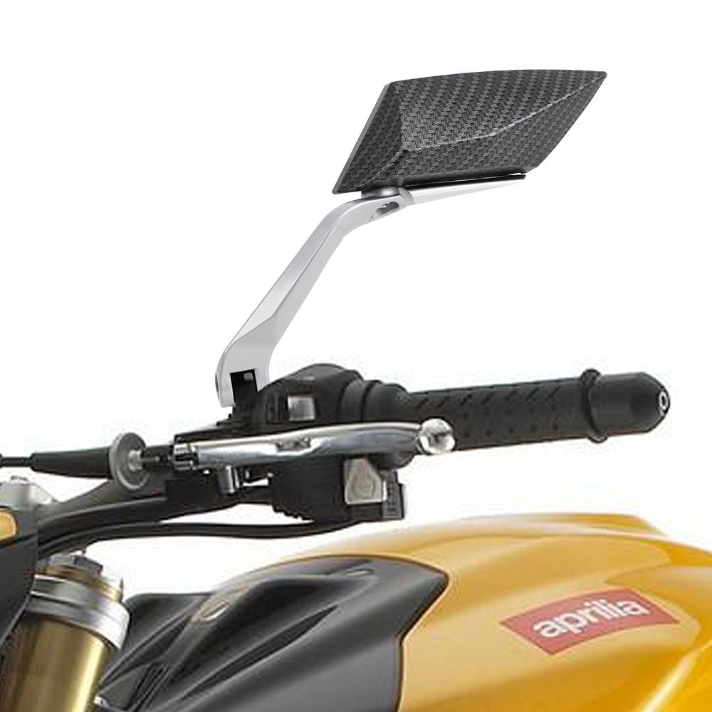 2x universal 8mm 10mm motorrad roller r ckspiegel spiegel. Black Bedroom Furniture Sets. Home Design Ideas