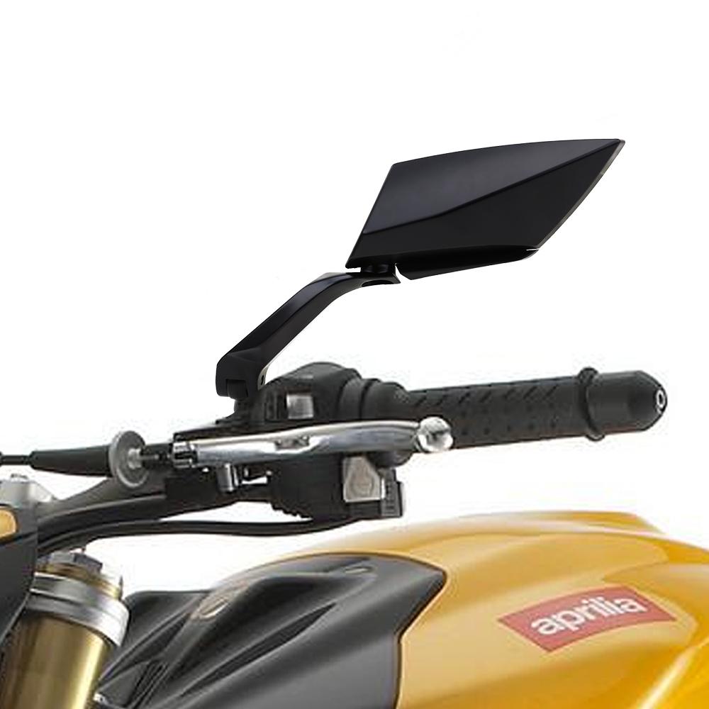 Par de espejo retrovisor vista lateral universal para moto for Espejo universal para moto