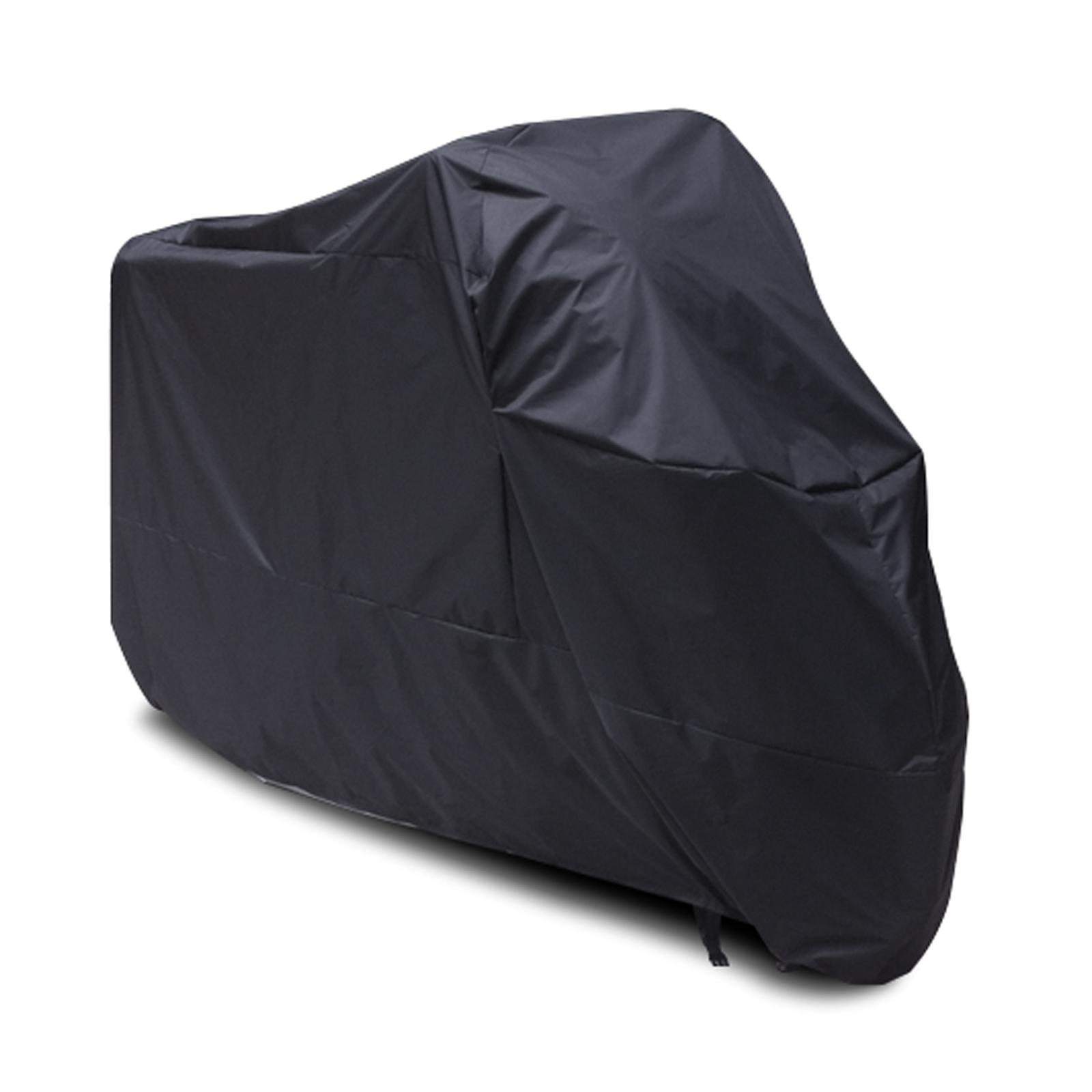Taille xxl noir housse de protection moto scooter oxford for Bache moto exterieur