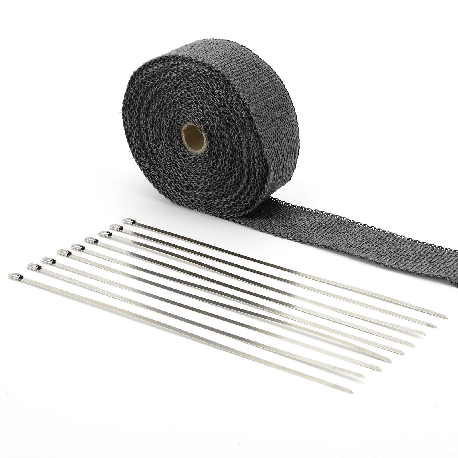 Bande thermique tissu noir fibre verre collecteur d for Ruban isolant thermique fenetre