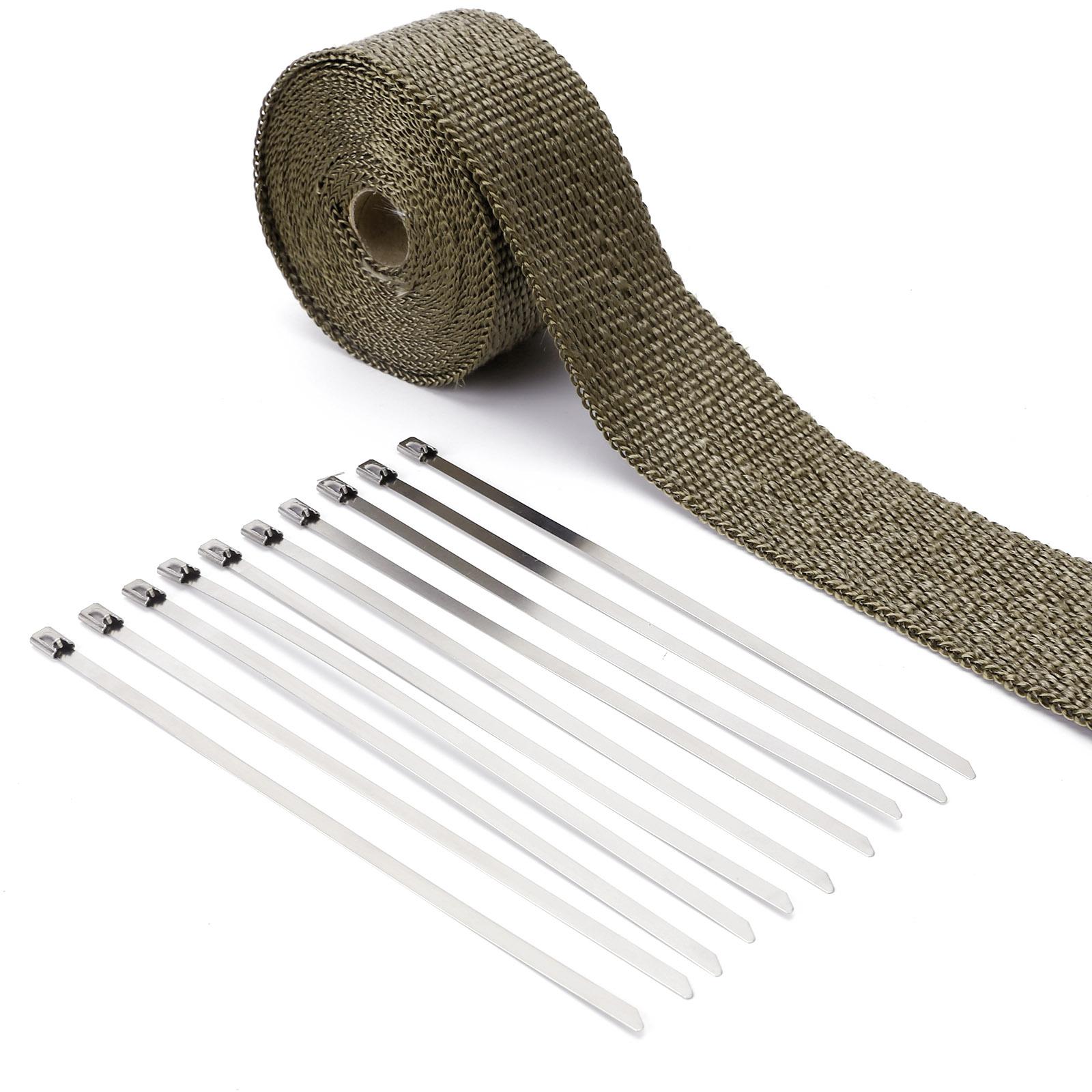 Bande thermique tissu noir fibre titane collecteur d for Ruban isolant thermique fenetre