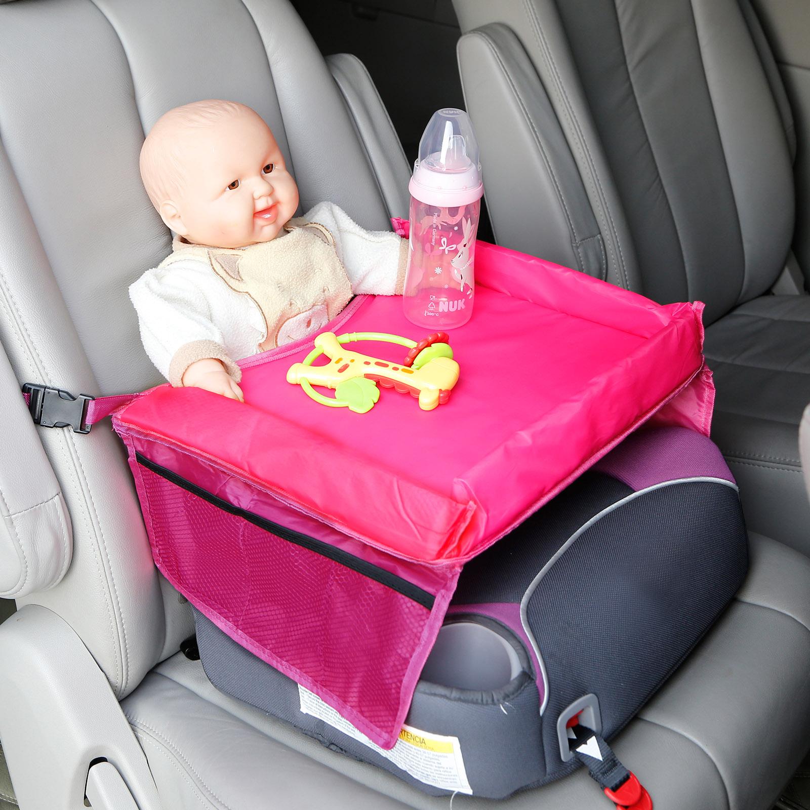 auto kinder wasserabweisend spieltisch reise essentisch f r kindersitze rosa ebay. Black Bedroom Furniture Sets. Home Design Ideas