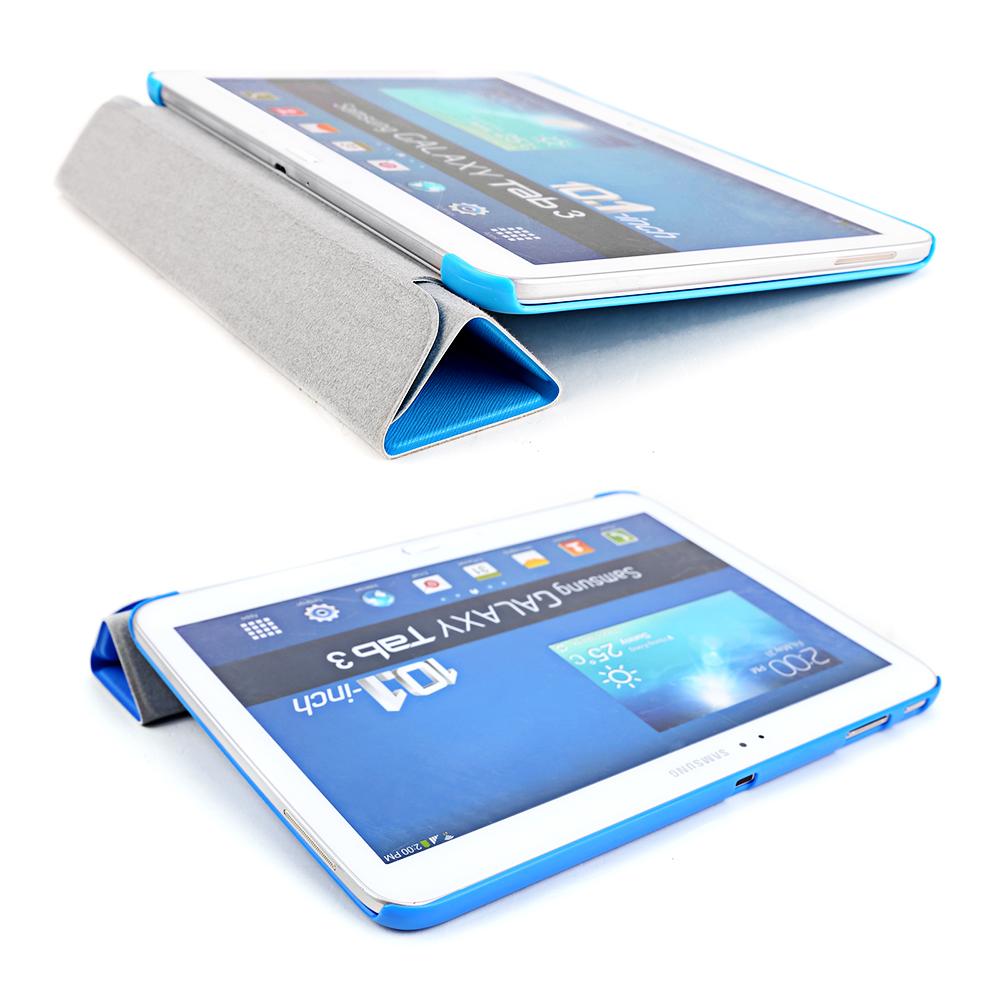 Bleu housse pour tablette 10 samsung galaxy tab 3 10 1 Housse tablette samsung