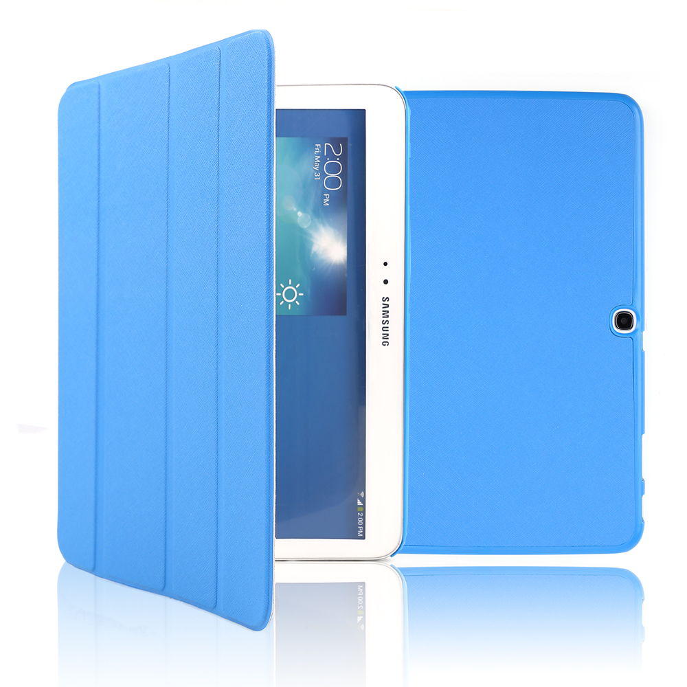 Bleu housse pour tablette 10 samsung galaxy tab 3 10 1 for Housse tablette samsung