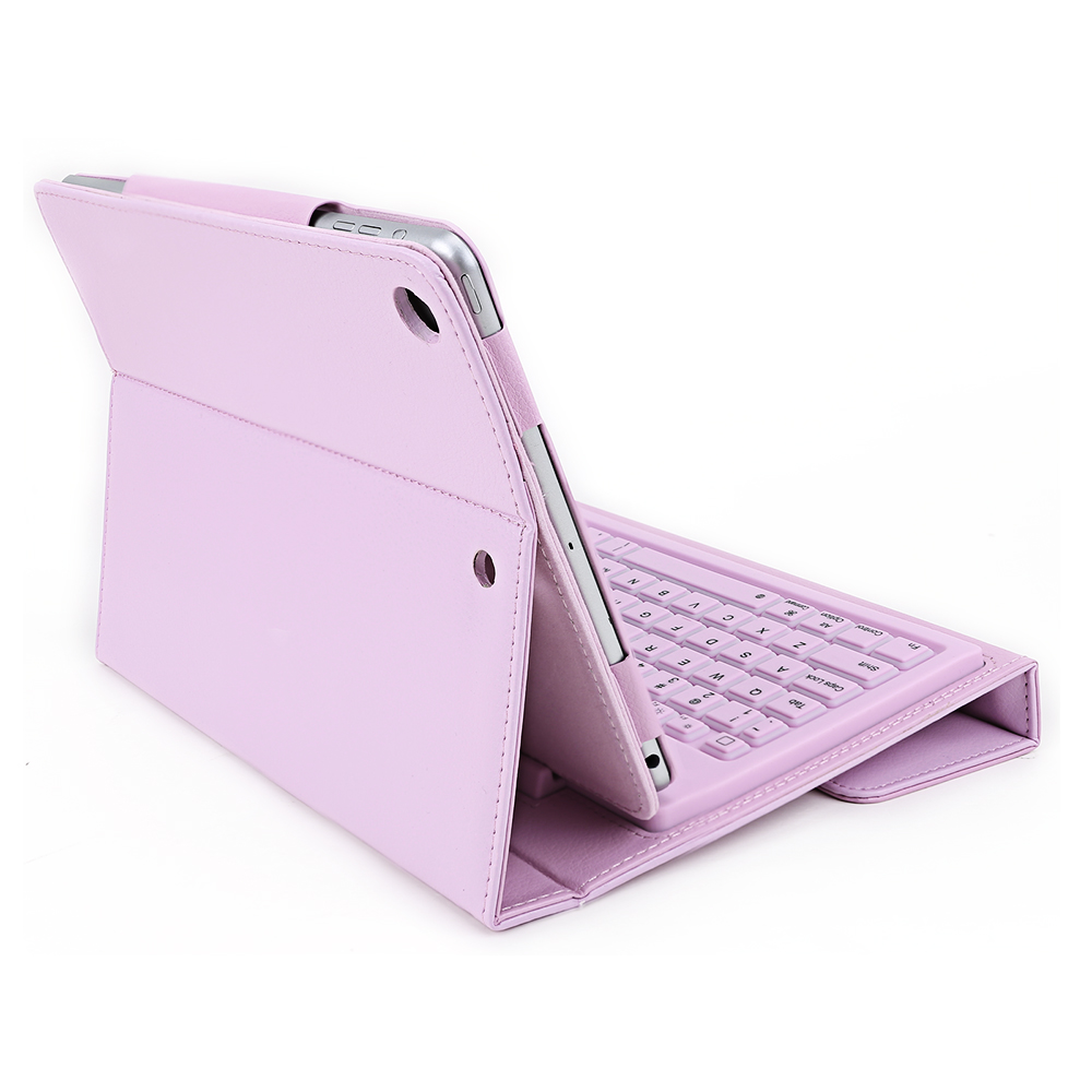 f r apple ipad air 5 drahtlose bluetooth tastatur h lle tasche case cover pink ebay. Black Bedroom Furniture Sets. Home Design Ideas