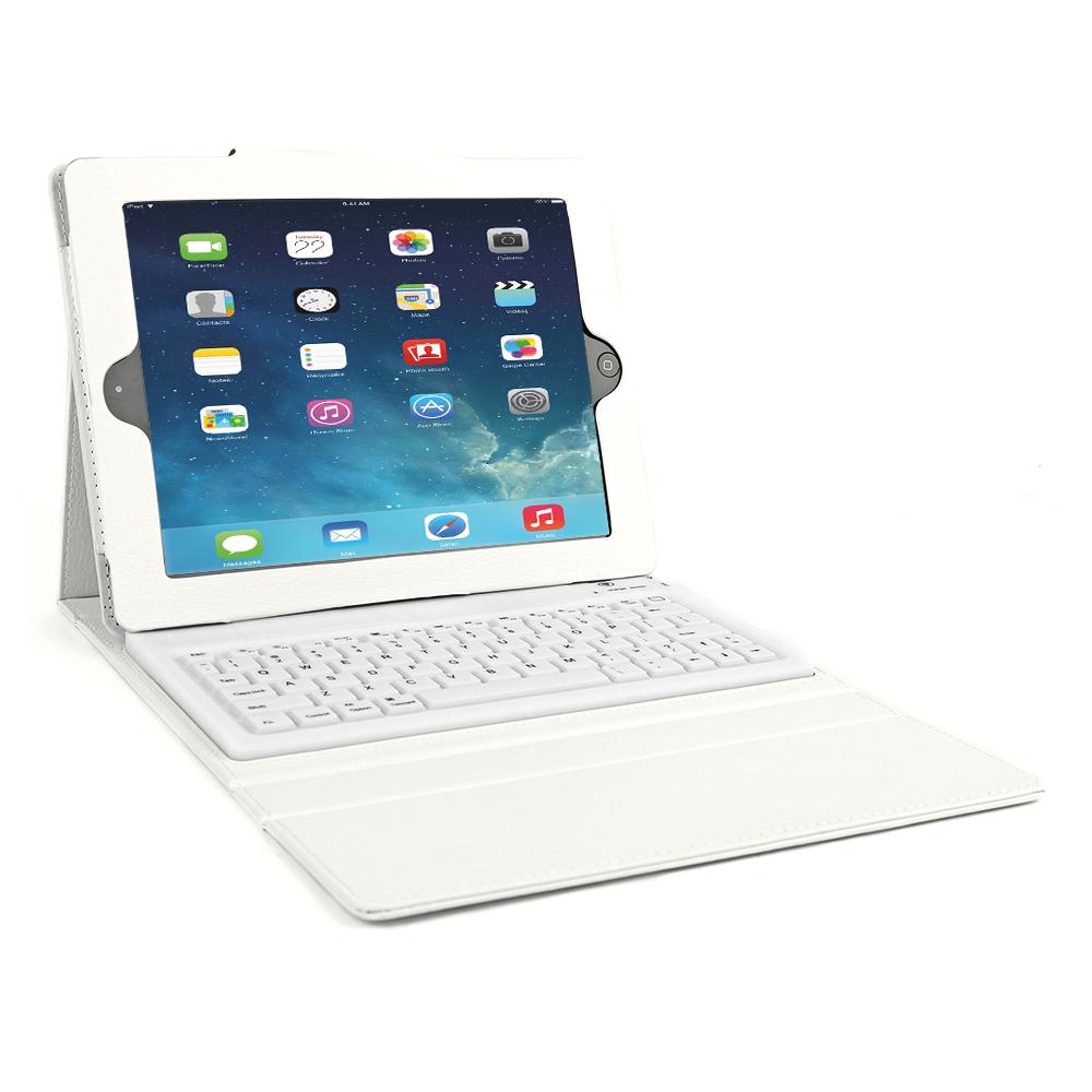 Bluetooth Wireless Keyboard Case for Apple iPad Mini/iPad ...  Bluetooth Wirel...