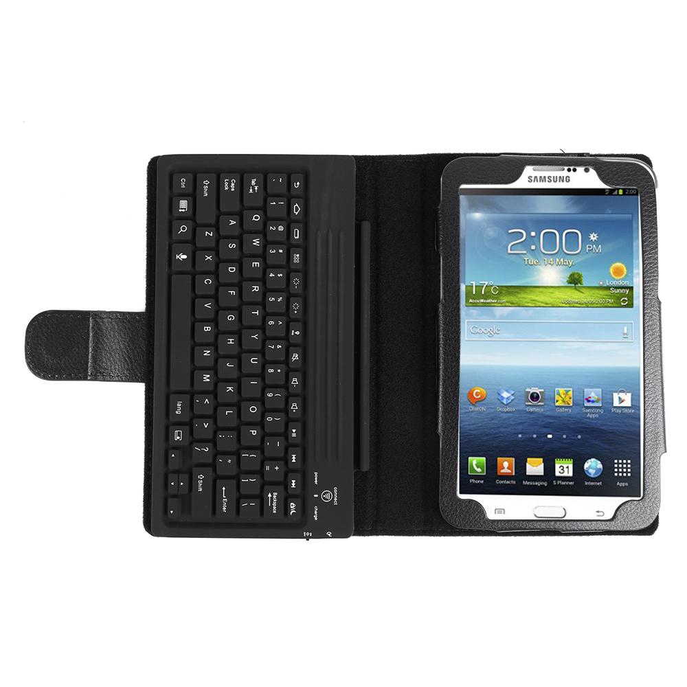 w hlbar tasche drahtlos tastatur case cover f samsung galaxy tab 3 7 0 8 0 10 0. Black Bedroom Furniture Sets. Home Design Ideas