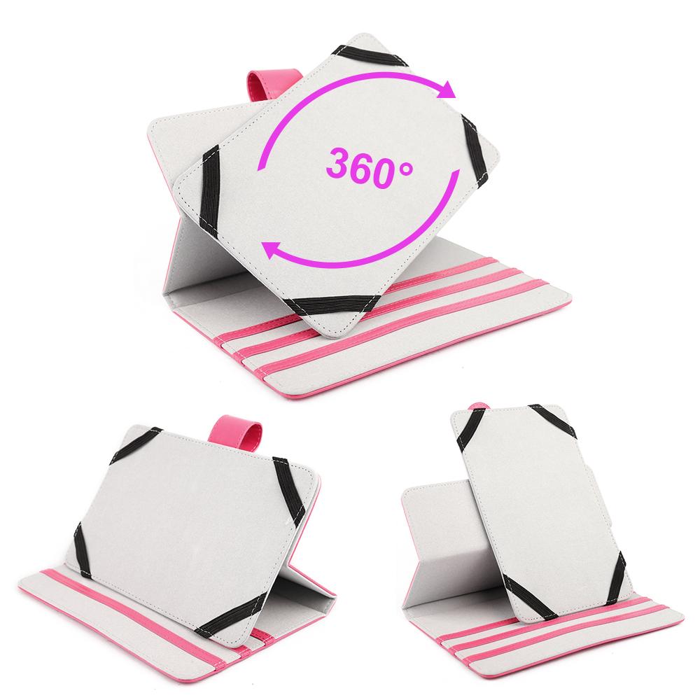 rosa 360 case h lle tasche cover st nder f r 7 huawei mediapad 7 vogue ebay. Black Bedroom Furniture Sets. Home Design Ideas
