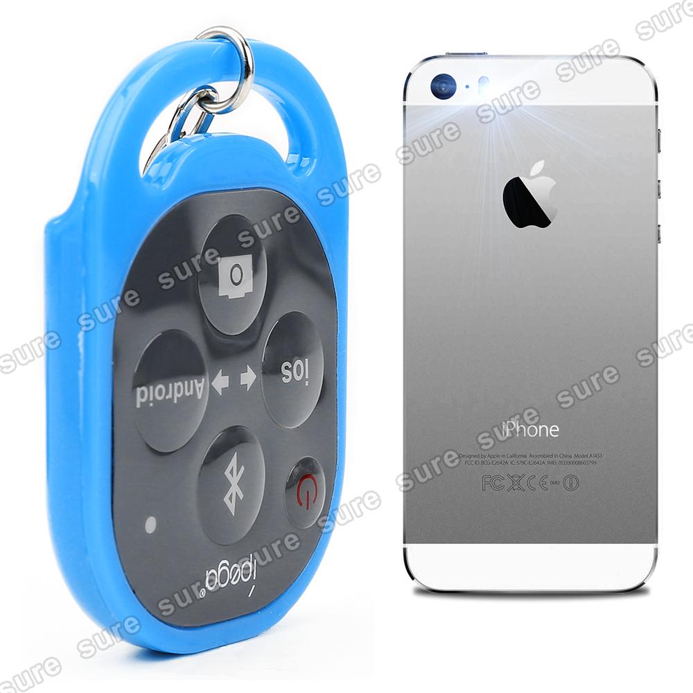 ipega bluetooth shutter kamera fern ausl ser blau f r smart phone samsung htc ebay. Black Bedroom Furniture Sets. Home Design Ideas