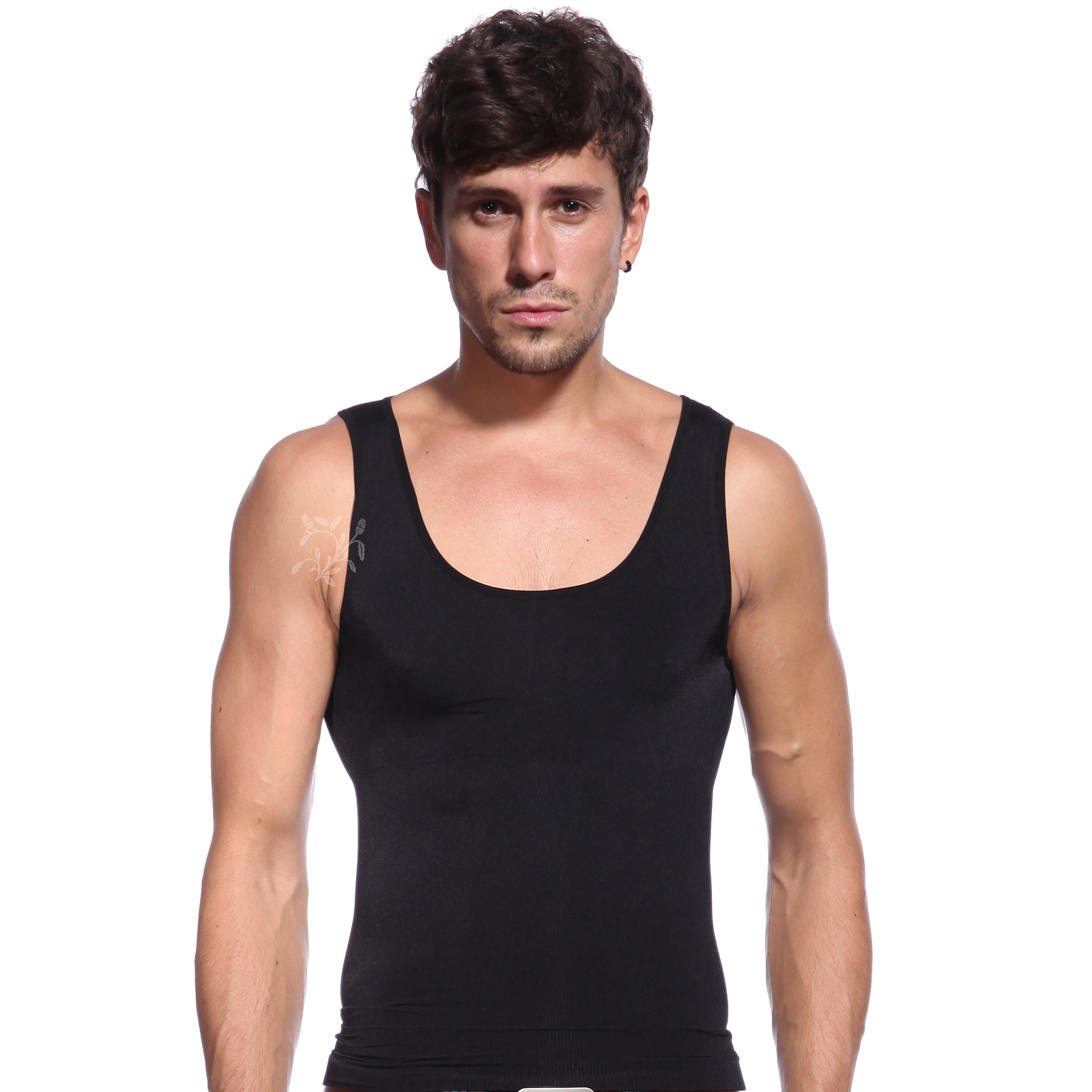 herren shapewear unterhemd bauchweg shirt m nner. Black Bedroom Furniture Sets. Home Design Ideas
