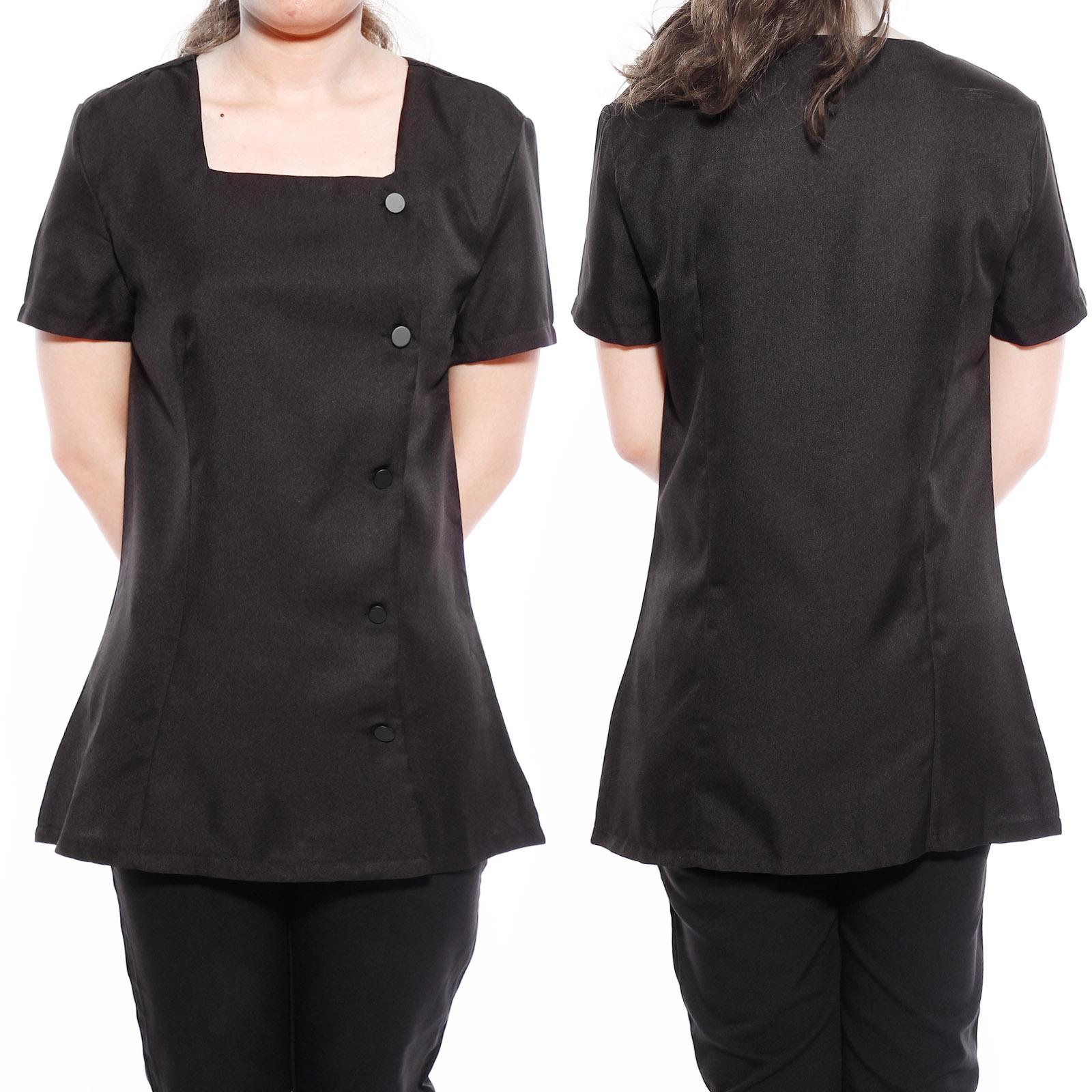 Beauty tunic spa massage therapist health carer work wear for Uniform nail spa