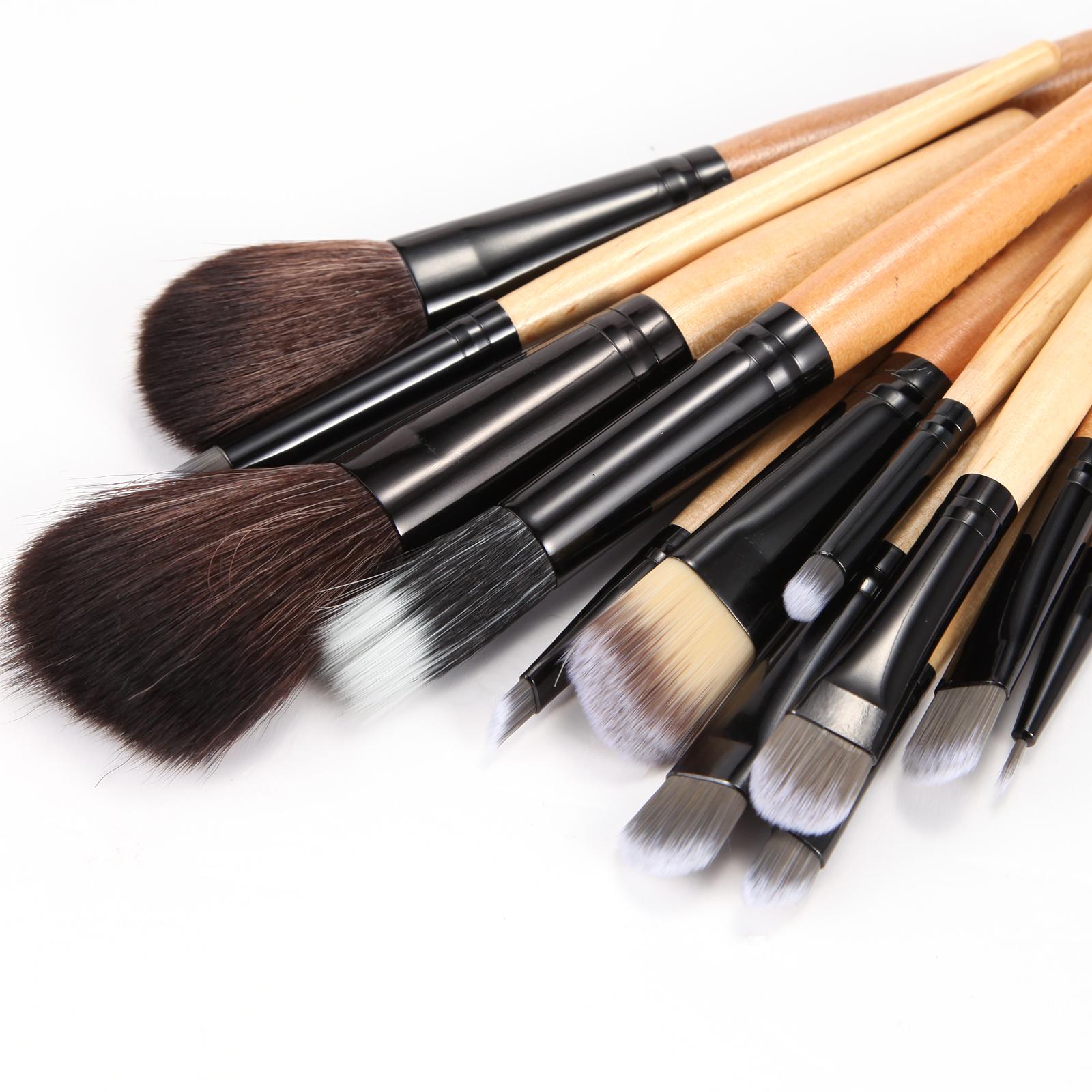 12 tlg professionelle make up pinsel set brush kosmetik. Black Bedroom Furniture Sets. Home Design Ideas
