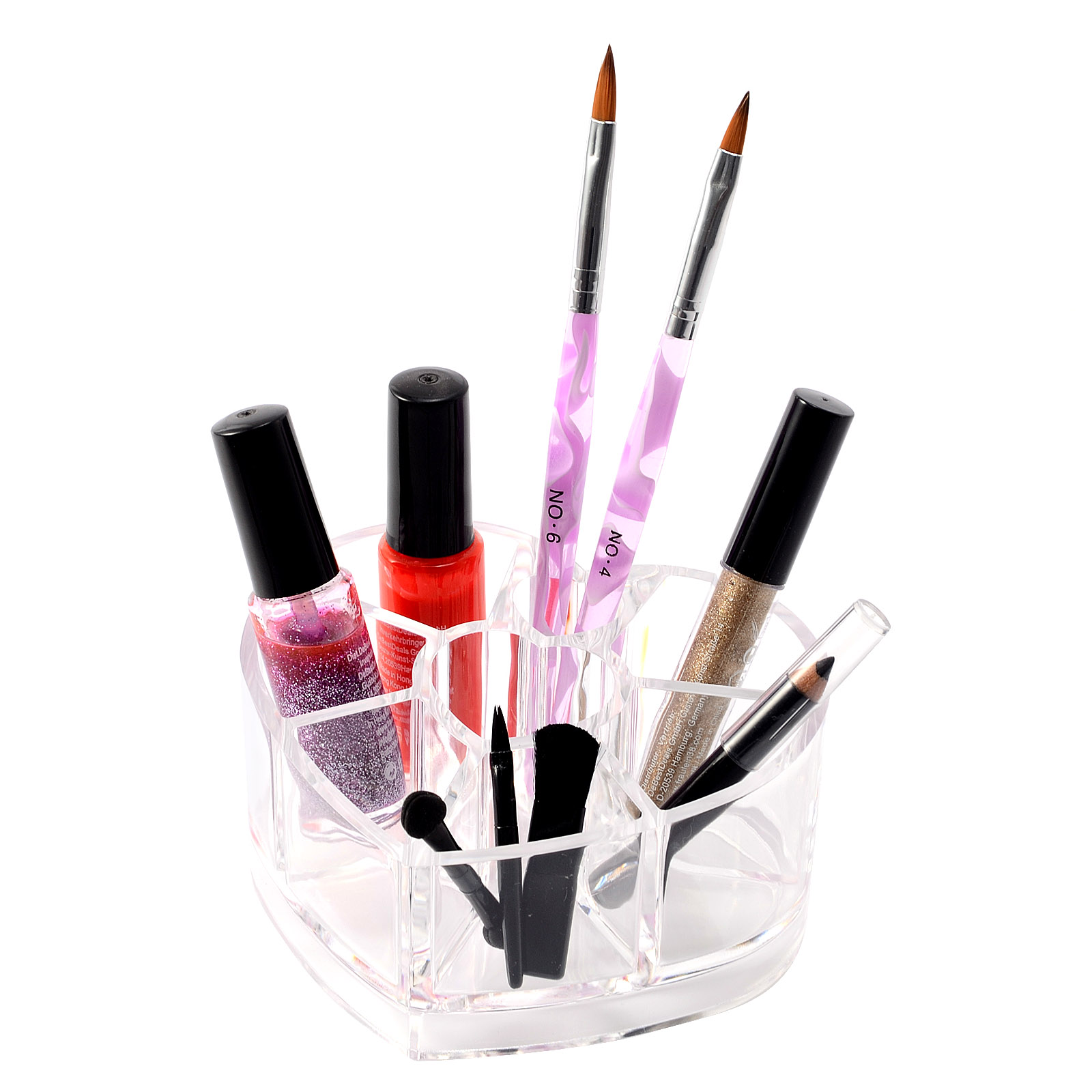 acrylic makeup case brush lip cosmetic holder organizer drawer stand storage ebay. Black Bedroom Furniture Sets. Home Design Ideas
