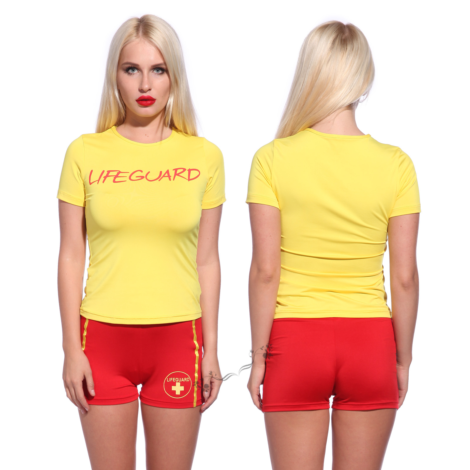 Male Female Lifeguard Life Saver Baywatch Uniform Red And  sc 1 st  Meningrey & Lifeguard Costume Womens - Meningrey