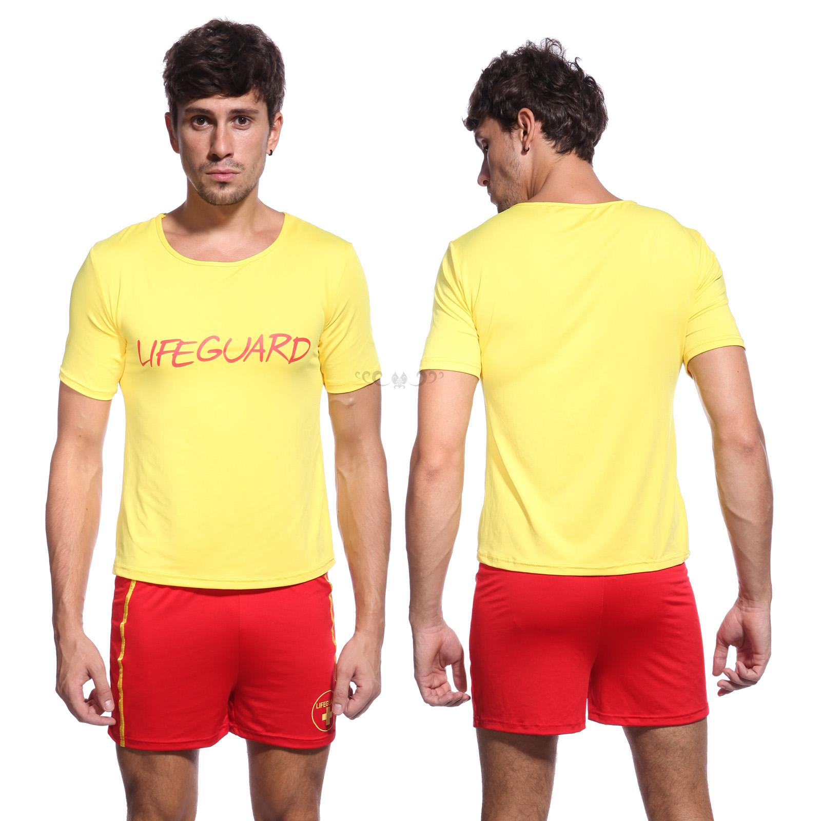 c8ed8a6ddc TV-Series-Life-Guard-Fancy-Dress-Up-Lifegurad- Sc 1 St EBay. image number 9  of lifeguard costume men ...