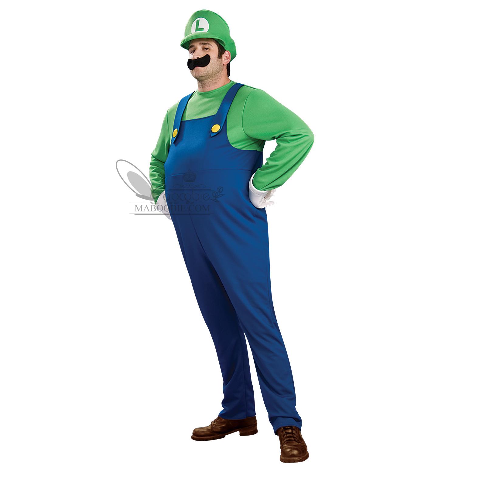costume de deguisement complet super mario luigi toad bros femme homme s m l ebay. Black Bedroom Furniture Sets. Home Design Ideas