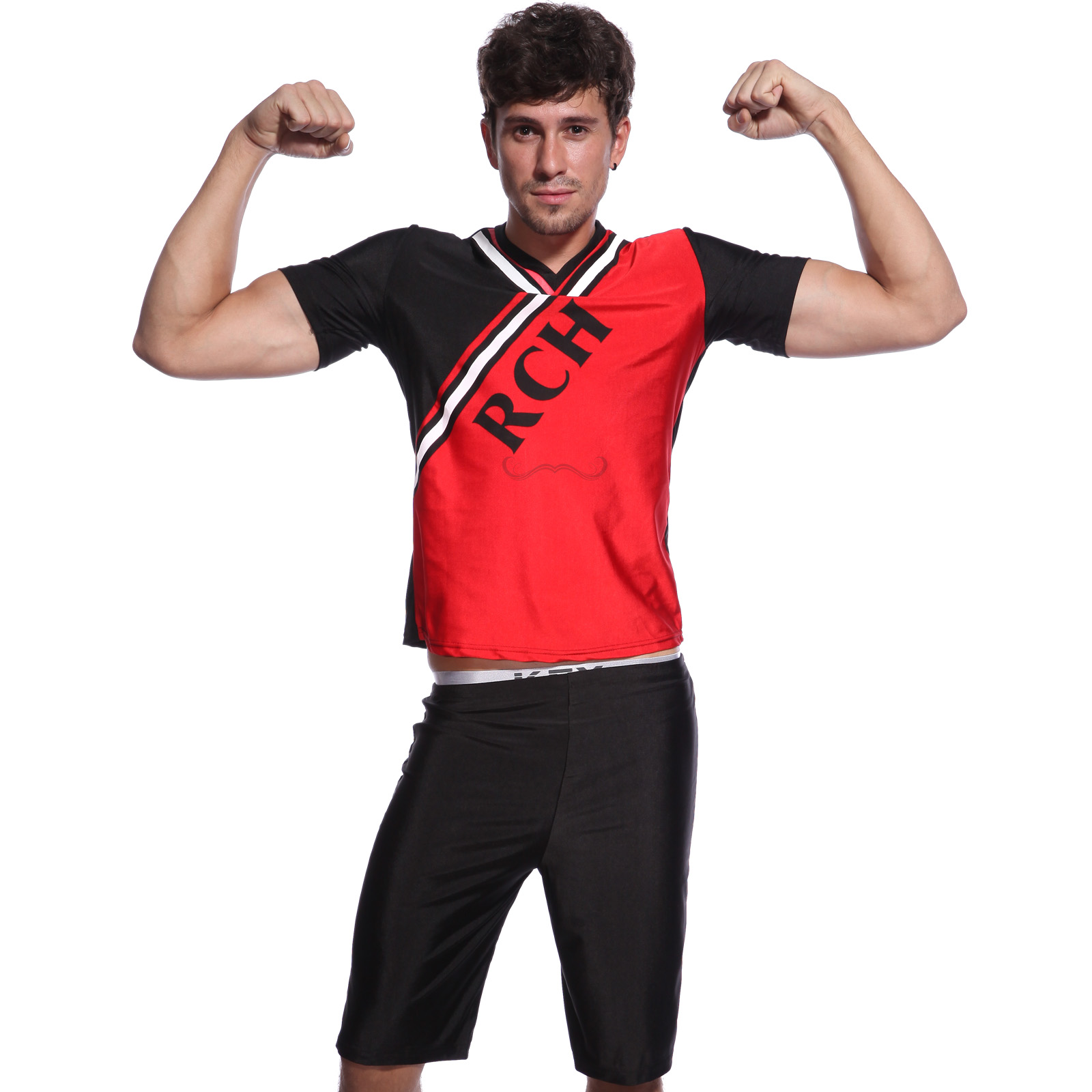 Bring it On Style RCH Cheerleader Costume Outfit Mens fancy dress standard size | eBay