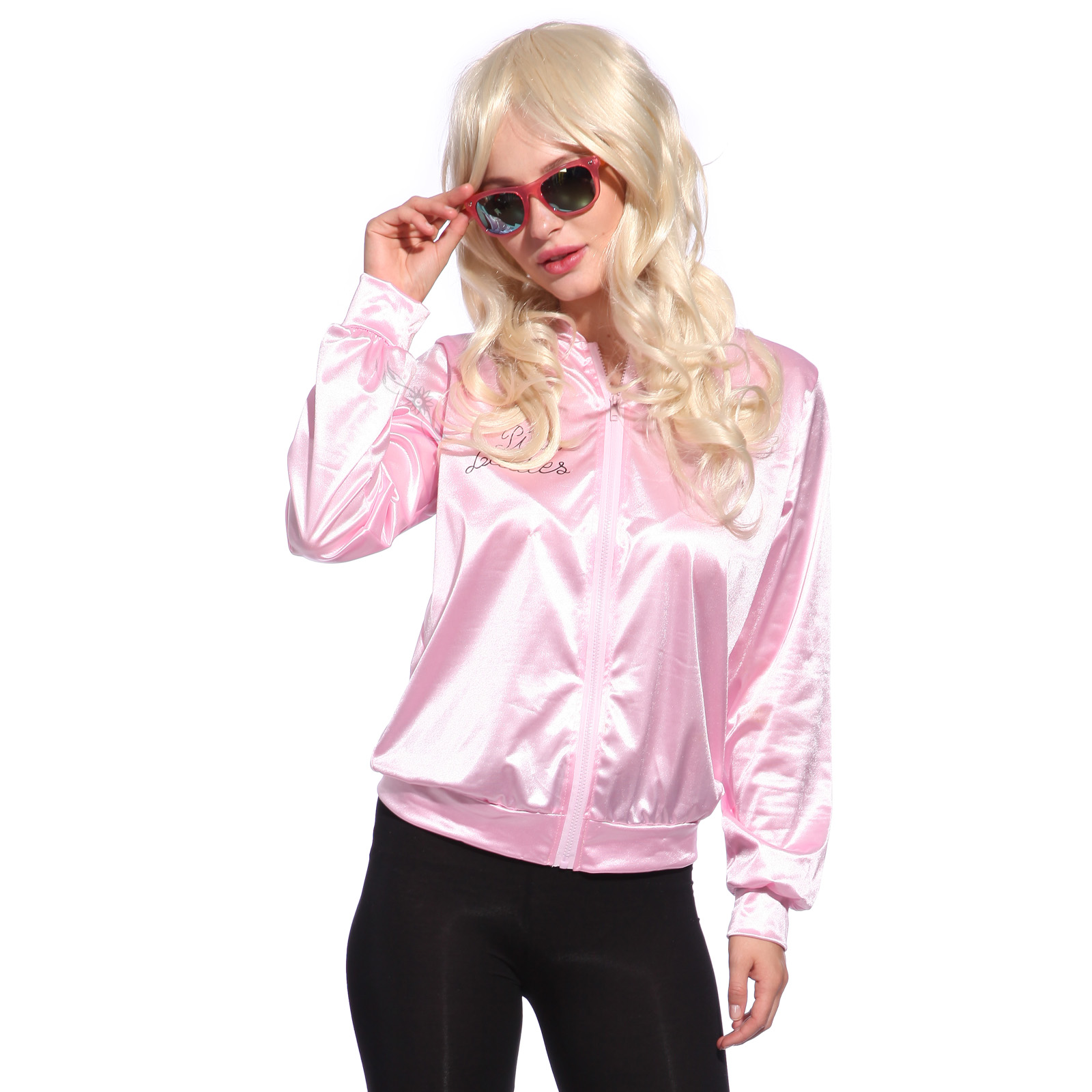 Retro 1950s Grease Pink Ladies Jacket Costume TShirt Party ...