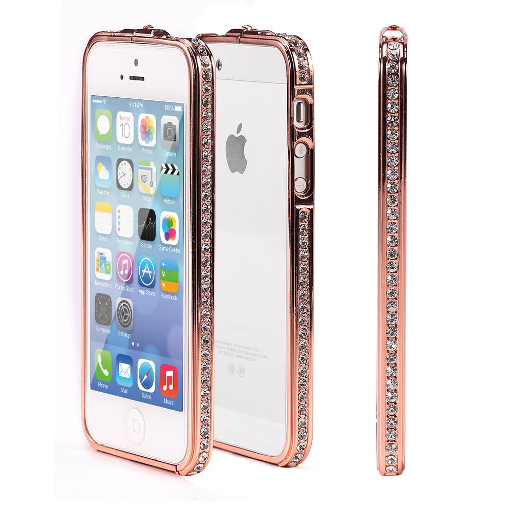 Iphone 5s Cases Gold Aluminum Metal Bumper ...