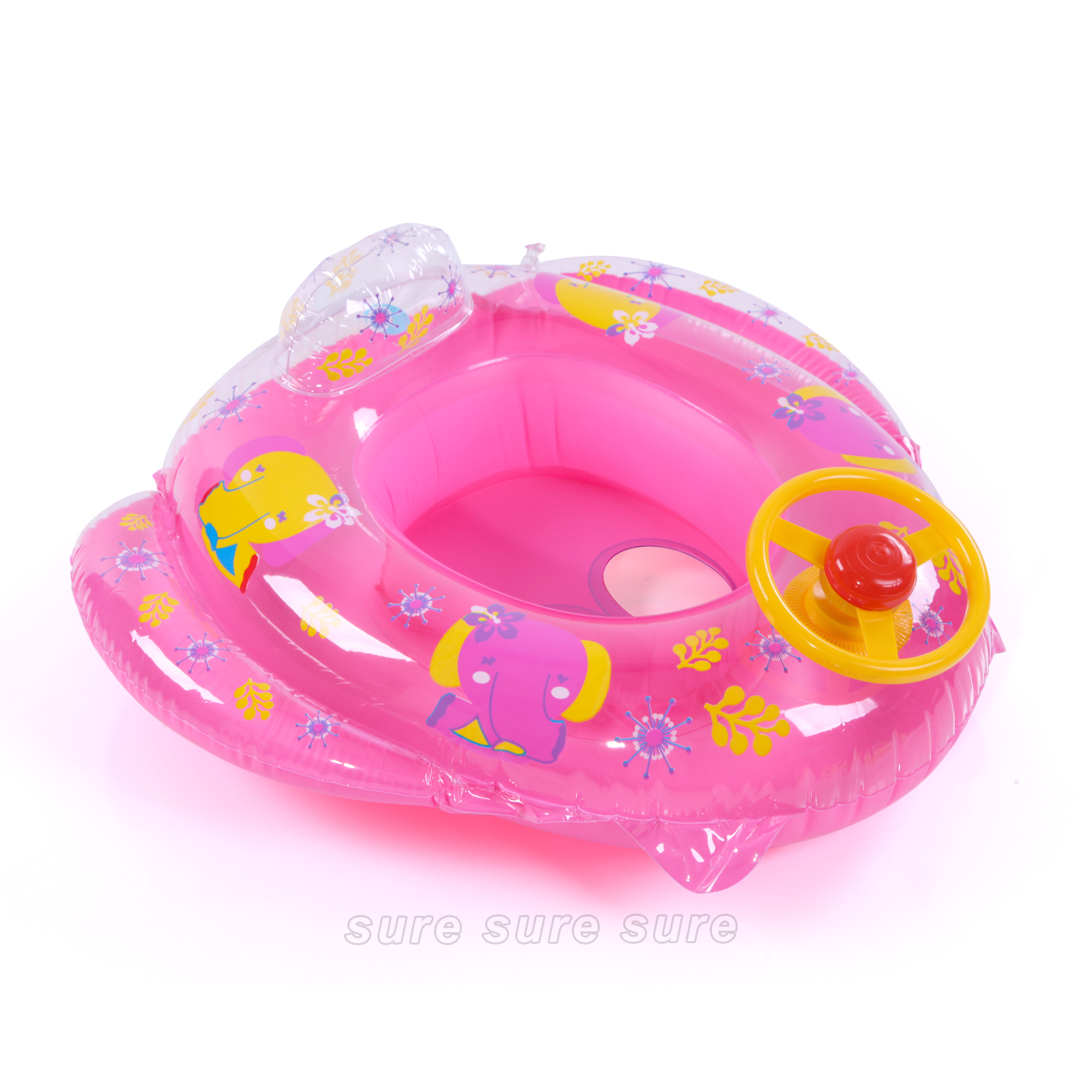 Baby Toddler Kids Car Inflatable Swim Float Seat Swimming