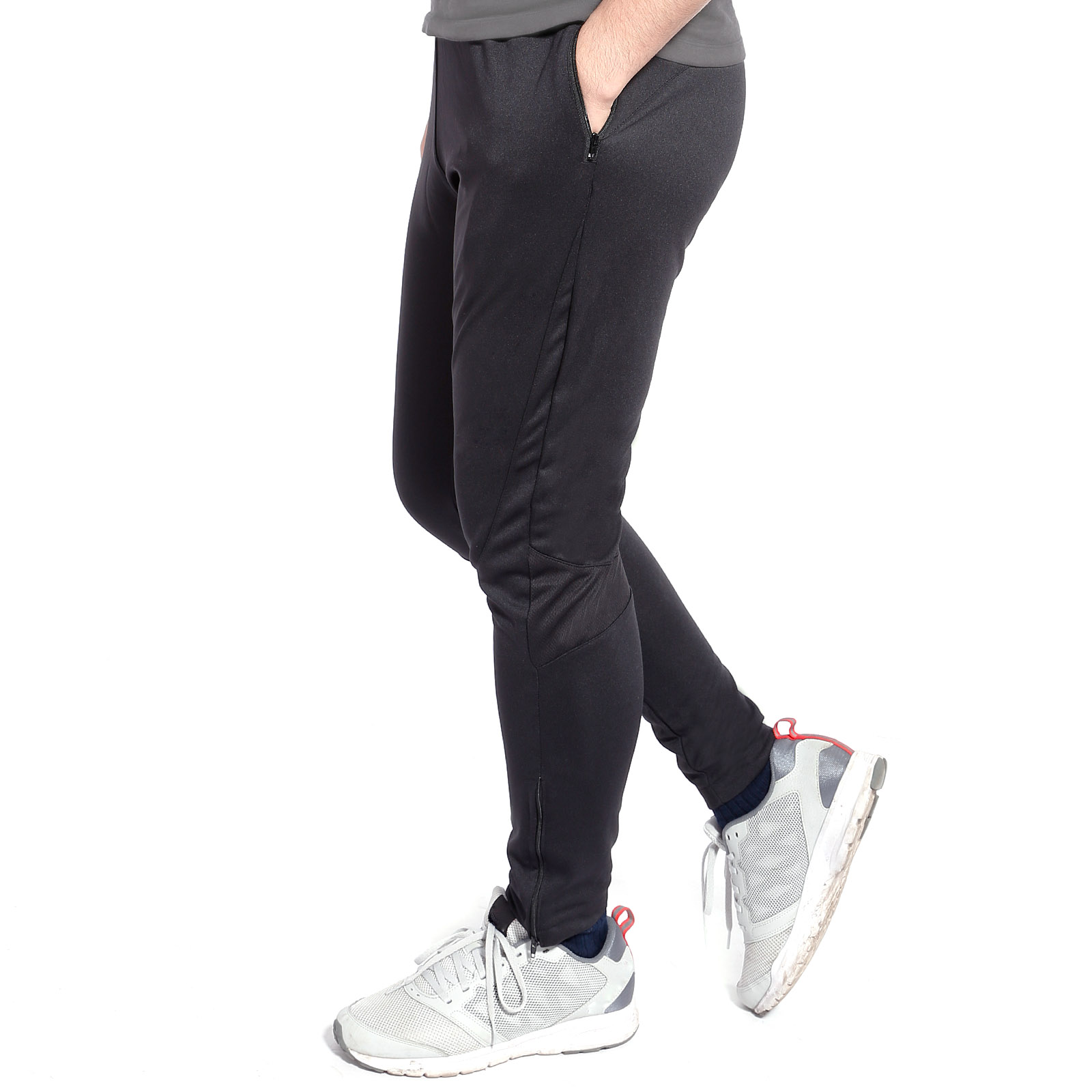 sporthose laufhose fitnesshose herren lang trainingshose skinny sweatpants ebay. Black Bedroom Furniture Sets. Home Design Ideas