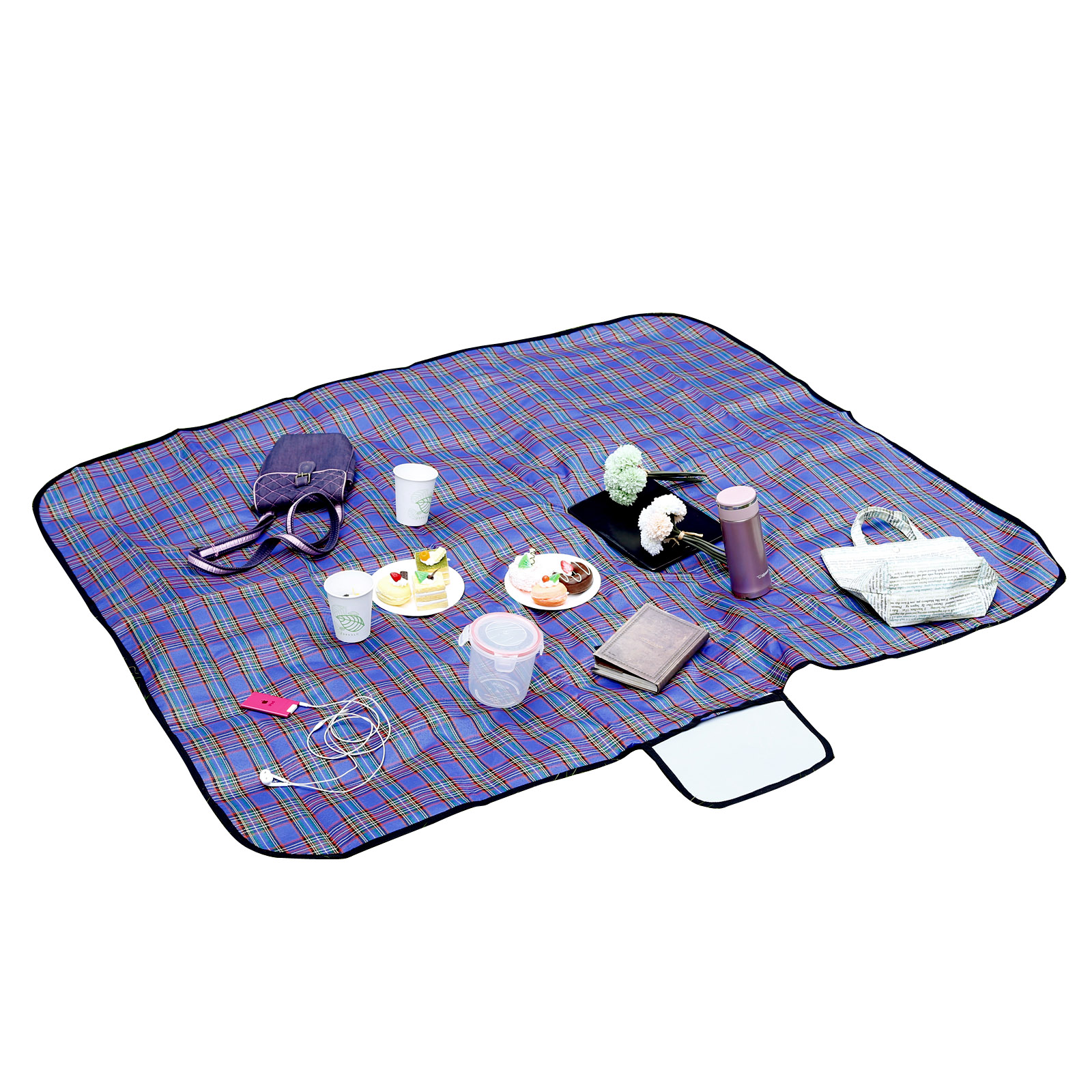 Picnic Blanket: Waterproof Beach Mat Picnic Blanket Portable Camping