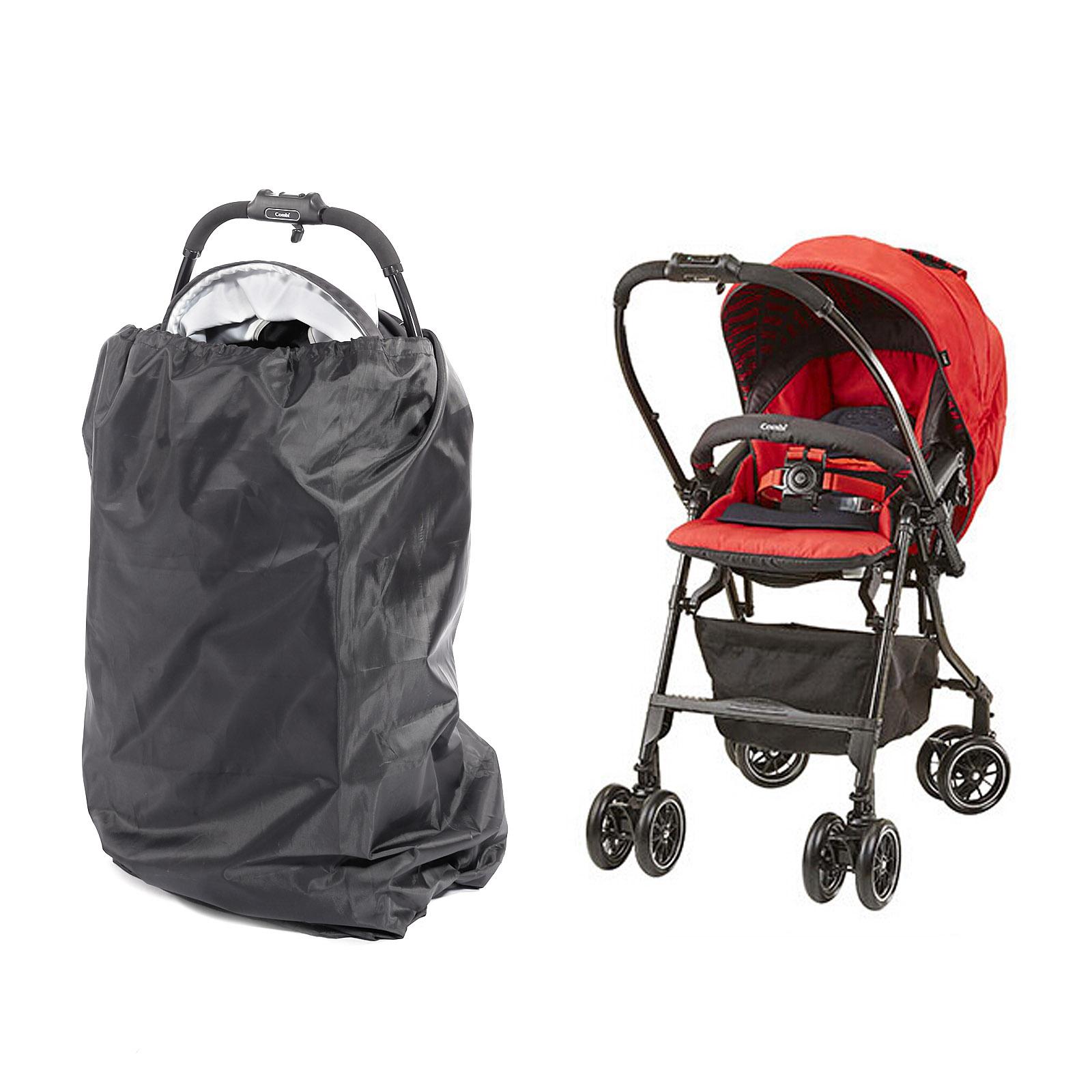 gate check black portable travel bag umbrella stroller pushchair buggy bag cover. Black Bedroom Furniture Sets. Home Design Ideas