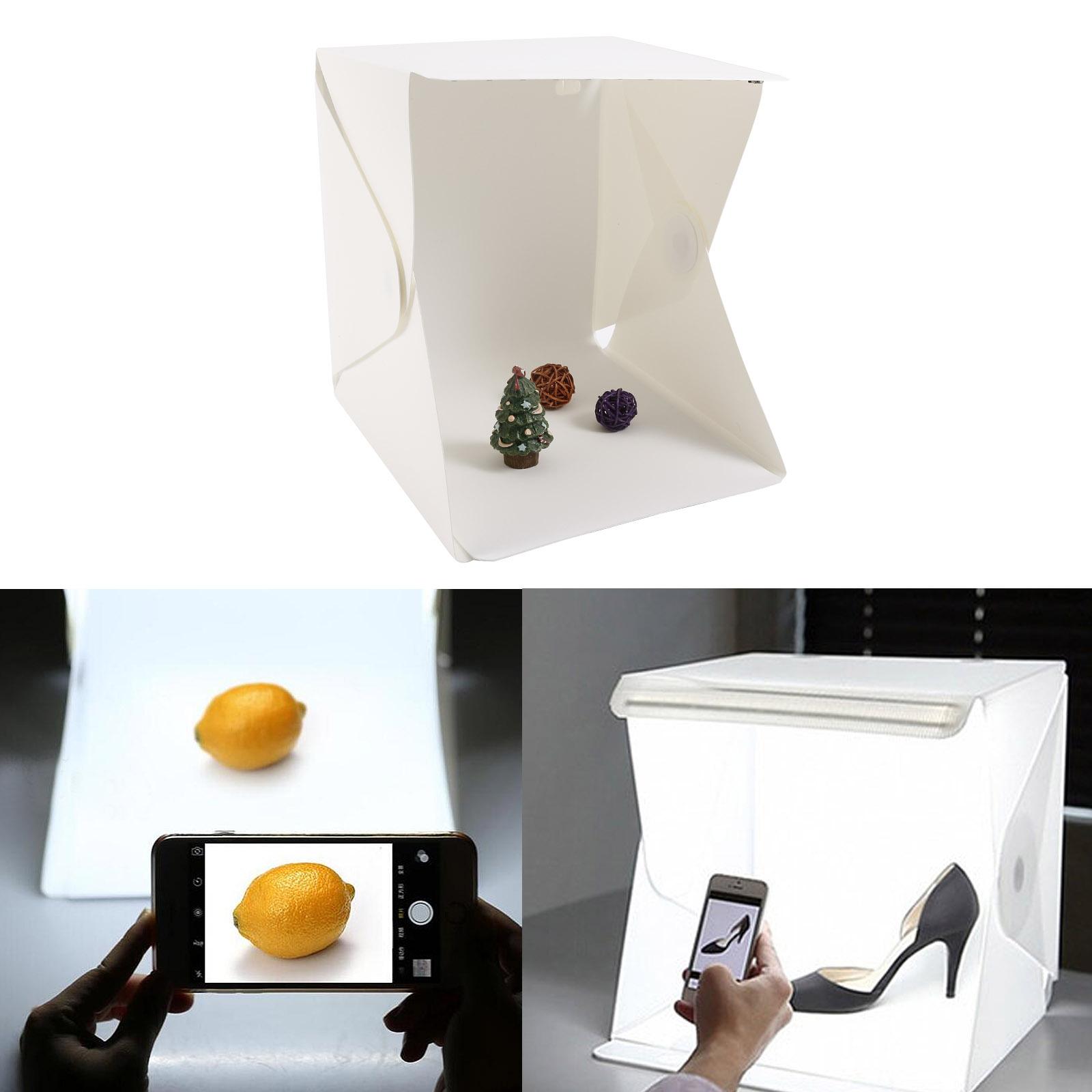 Light Room Photo Studio Photography Lighting Tent Kit: Foldable Mini Photo Studio Light Tent Kit Portable Room
