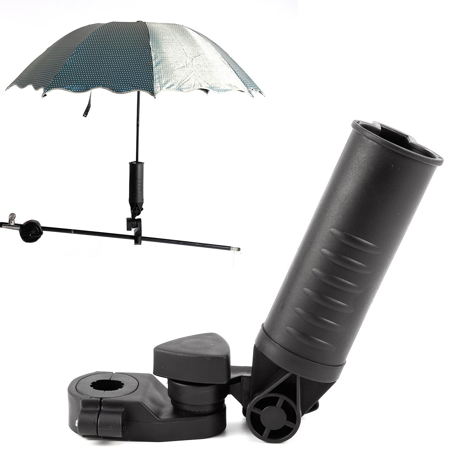 Umbrella Stand Golf: Golf Adjustable Umbrella Holder Mount Stand