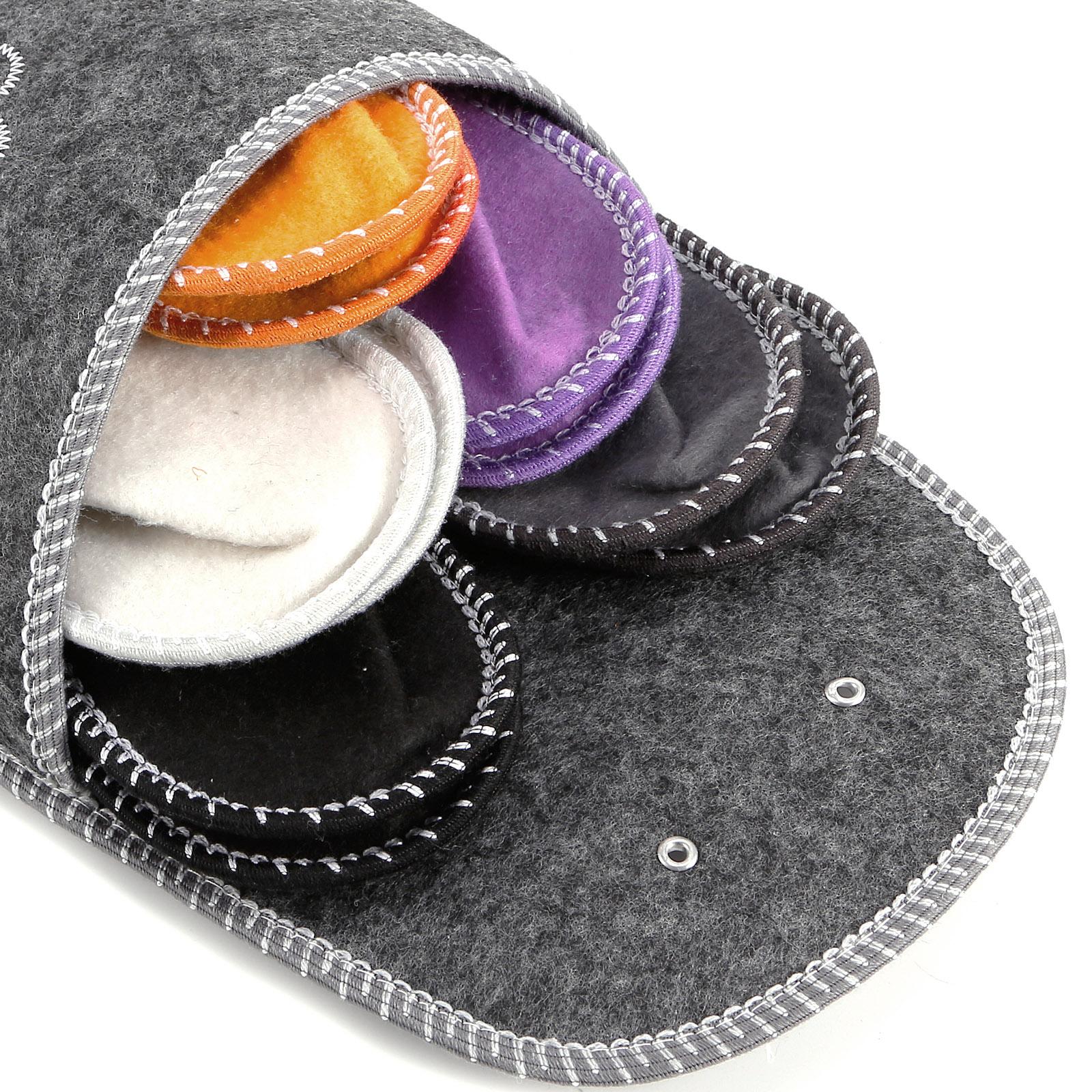 blumen grau g stehausschuhe pantoffel hausschuhe set anti. Black Bedroom Furniture Sets. Home Design Ideas
