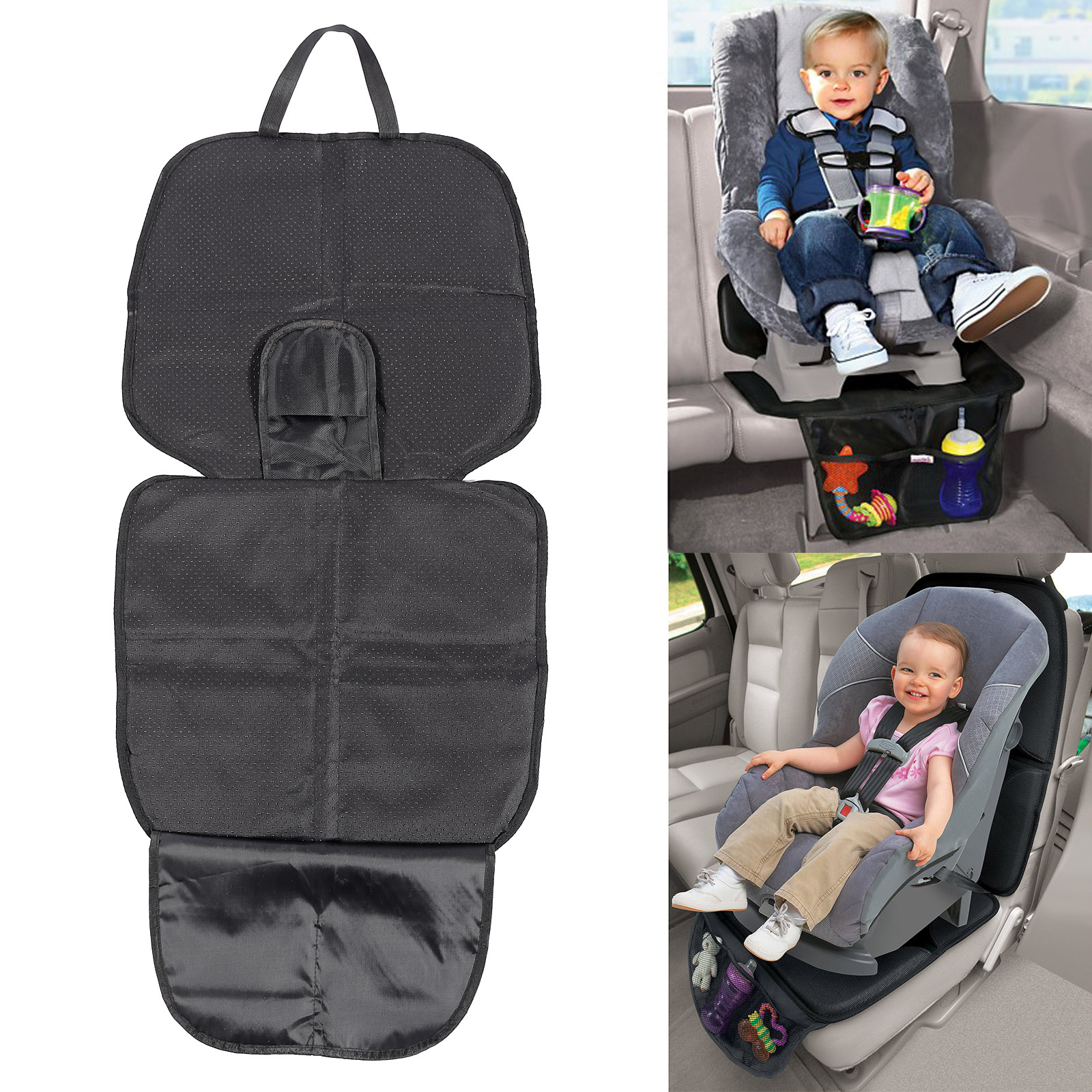 coussin antiderapant couvre si ge voiture protection b b enfant s curit tapis ebay. Black Bedroom Furniture Sets. Home Design Ideas